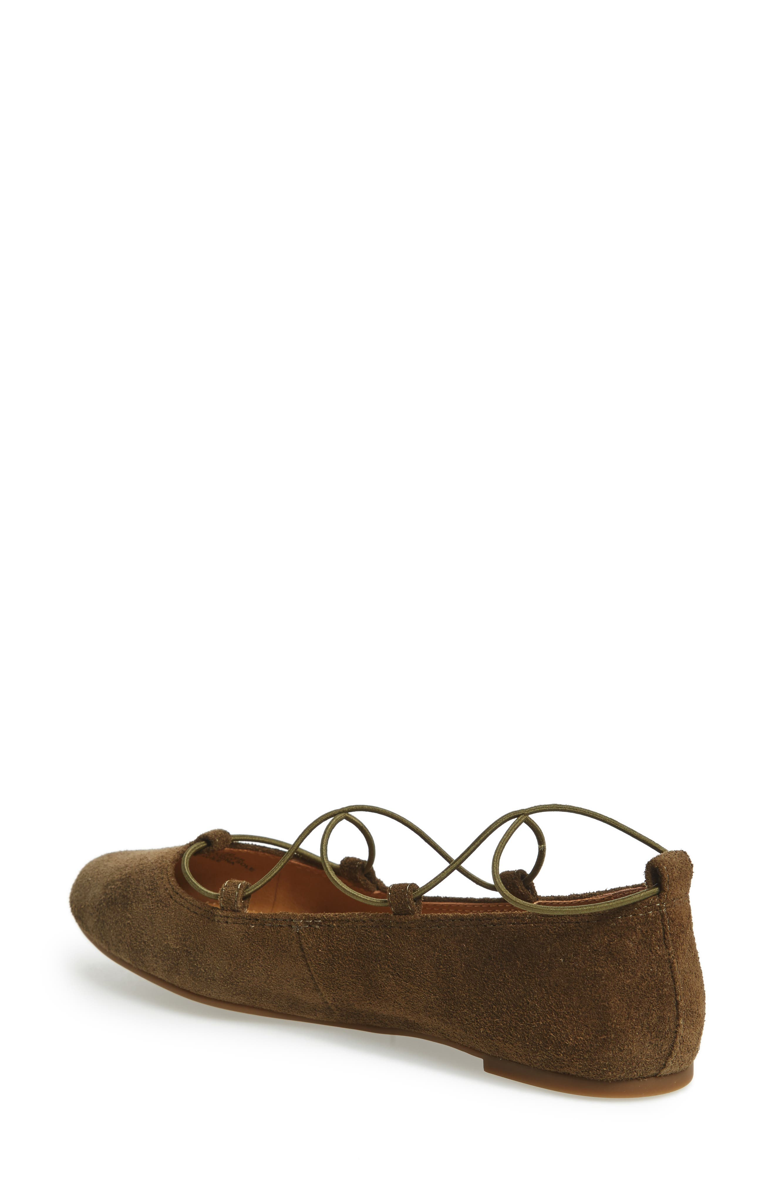 'Aviee' Lace-Up Flat,                             Alternate thumbnail 17, color,