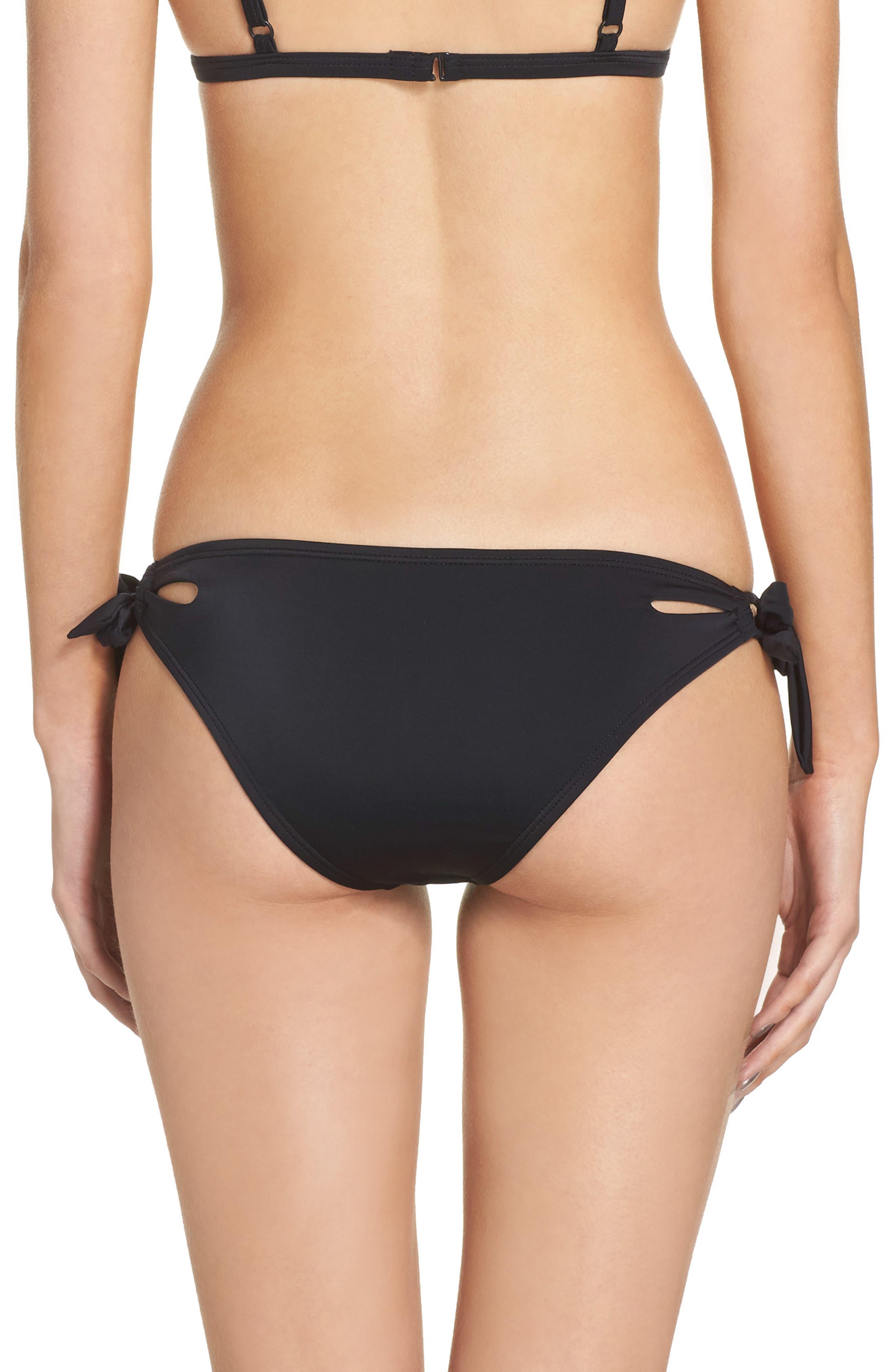Side Tie Bikini Bottoms,                             Alternate thumbnail 3, color,