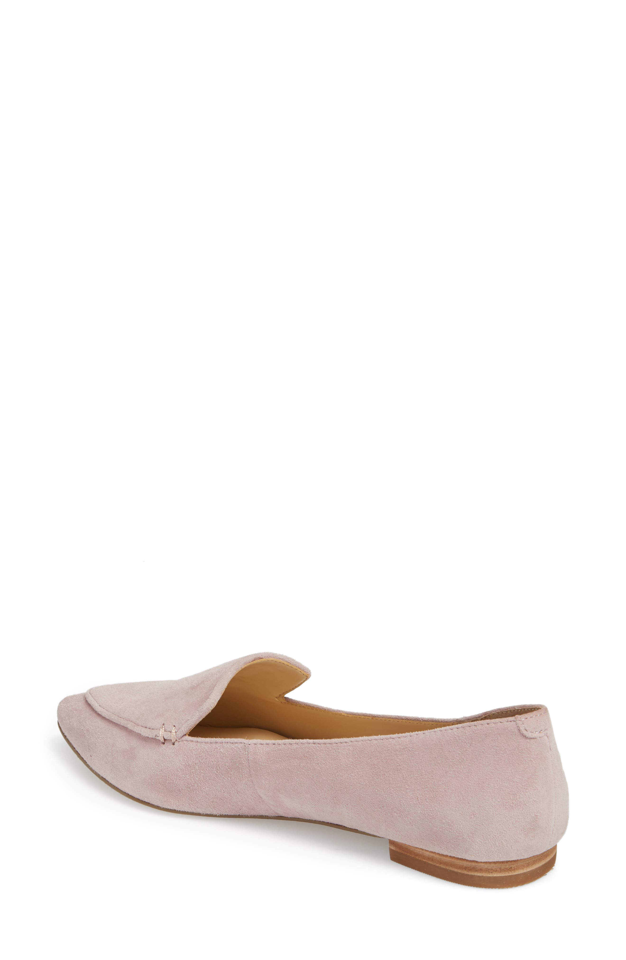 'Cammila' Pointy Toe Loafer,                             Alternate thumbnail 14, color,