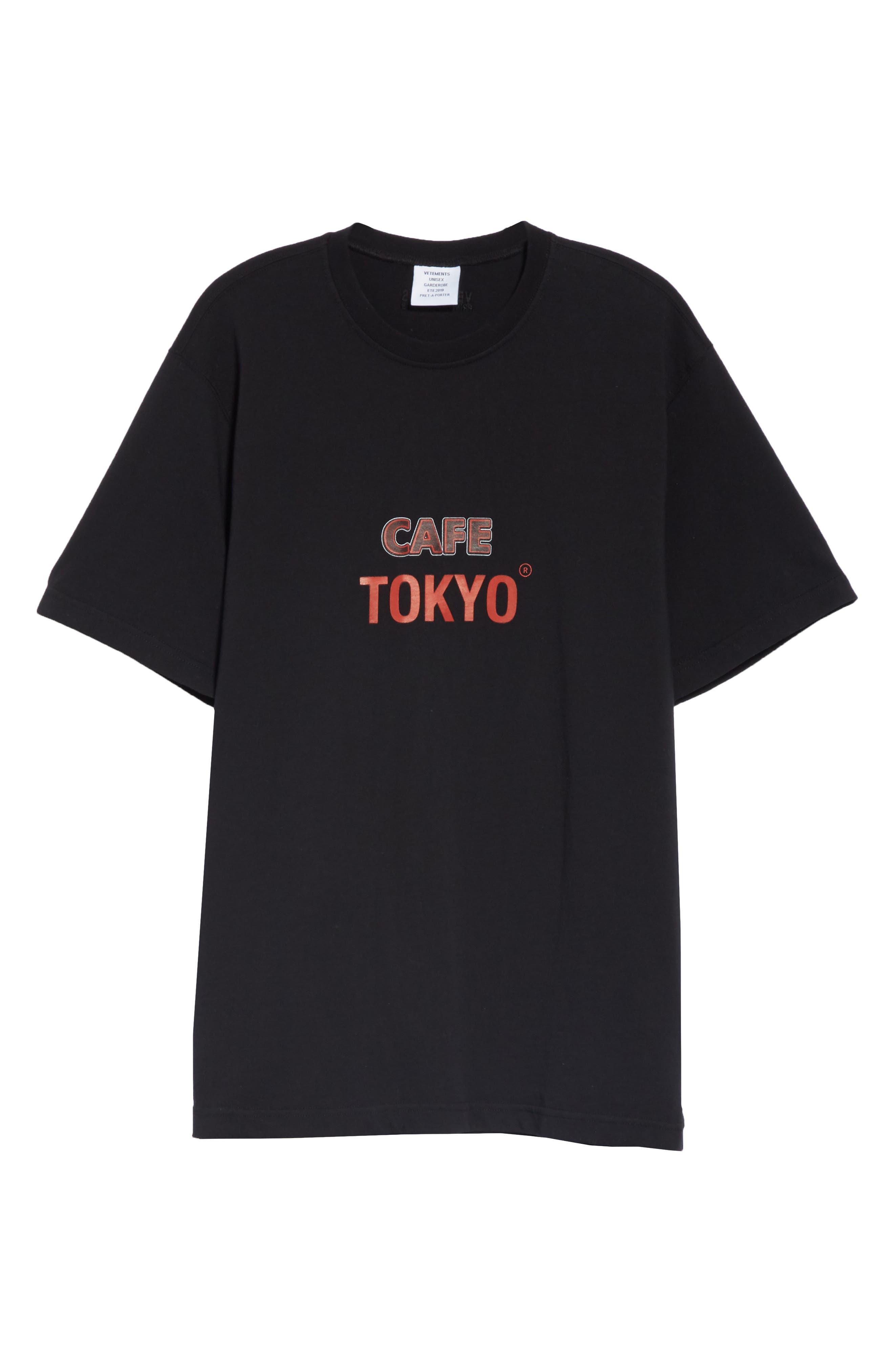 Tokyo Reykjavik Tee,                             Alternate thumbnail 6, color,                             BLACK