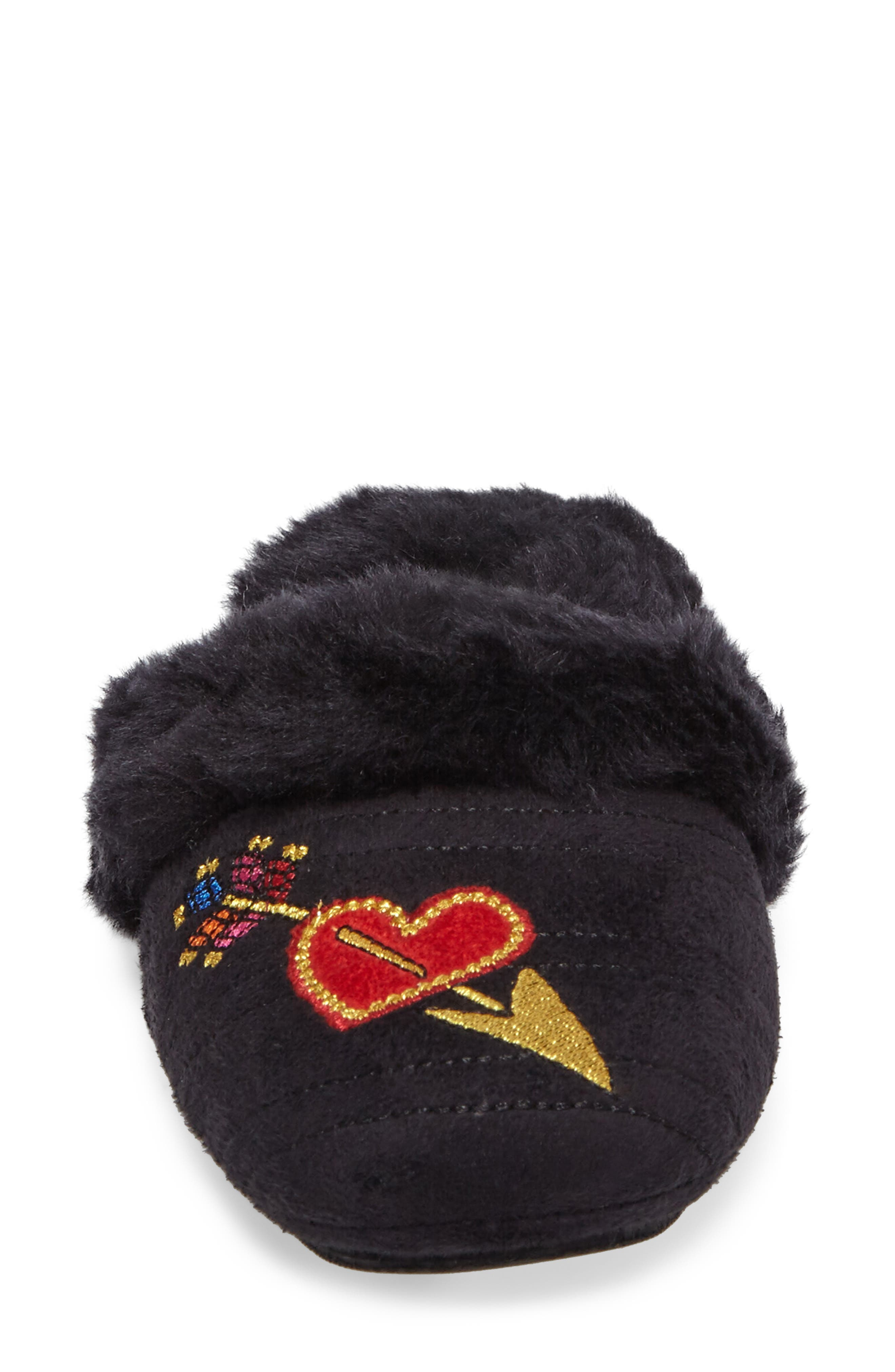 Heart & Arrow Slipper,                             Alternate thumbnail 4, color,                             001