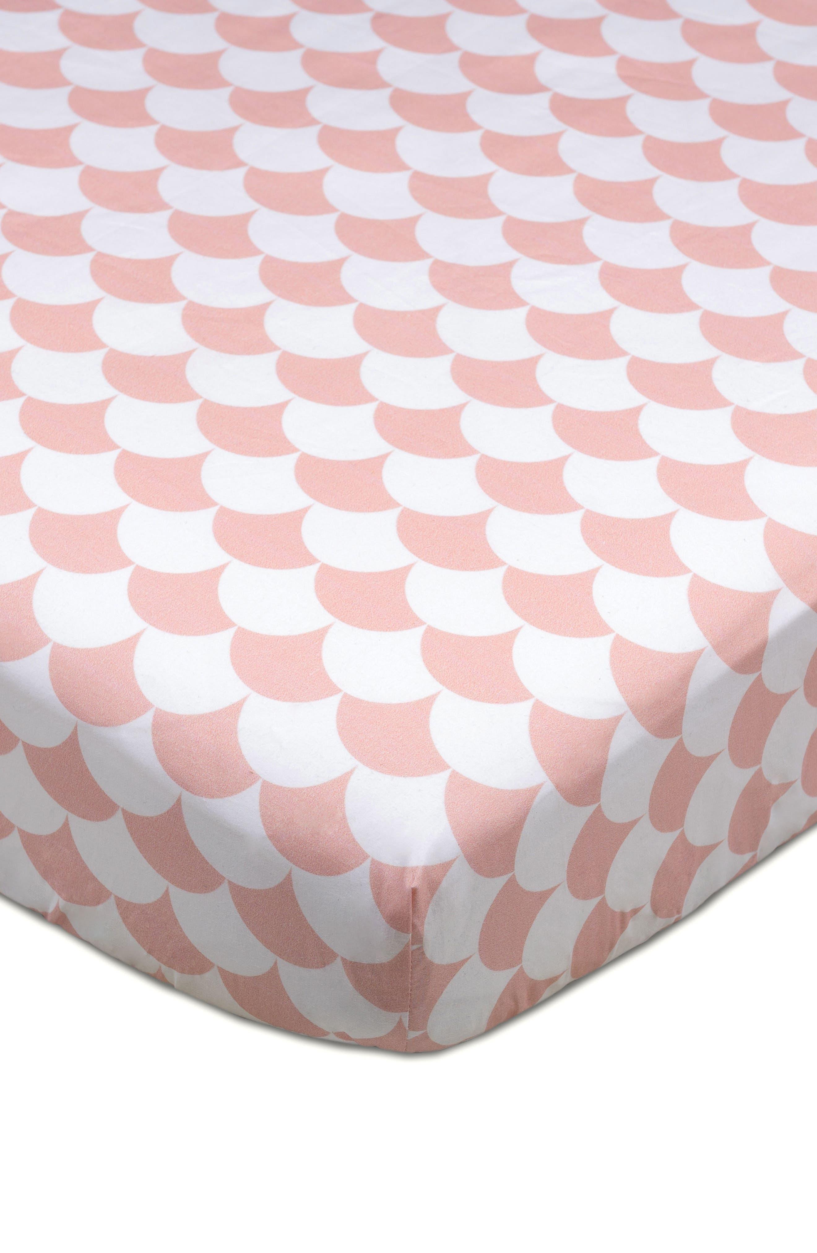 LIVING TEXTILES,                             Woodlands 4-Piece Crib Bedding Set,                             Alternate thumbnail 5, color,                             100
