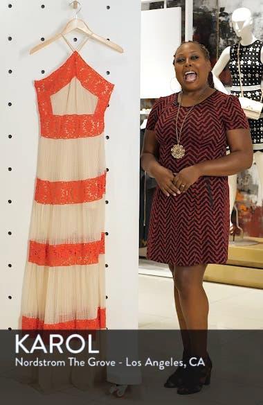 Ophelia Two-Tone Lace Maxi Dress, sales video thumbnail