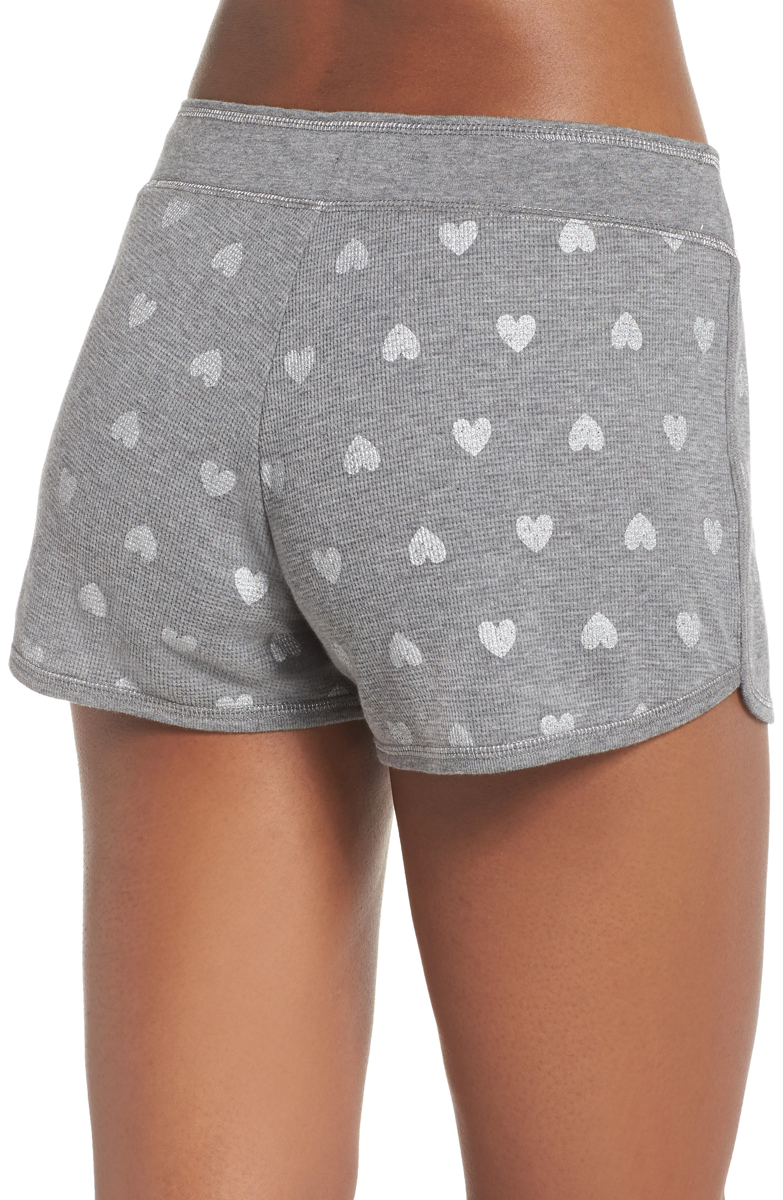 Wild Heart Thermal Shorts,                             Alternate thumbnail 2, color,                             020