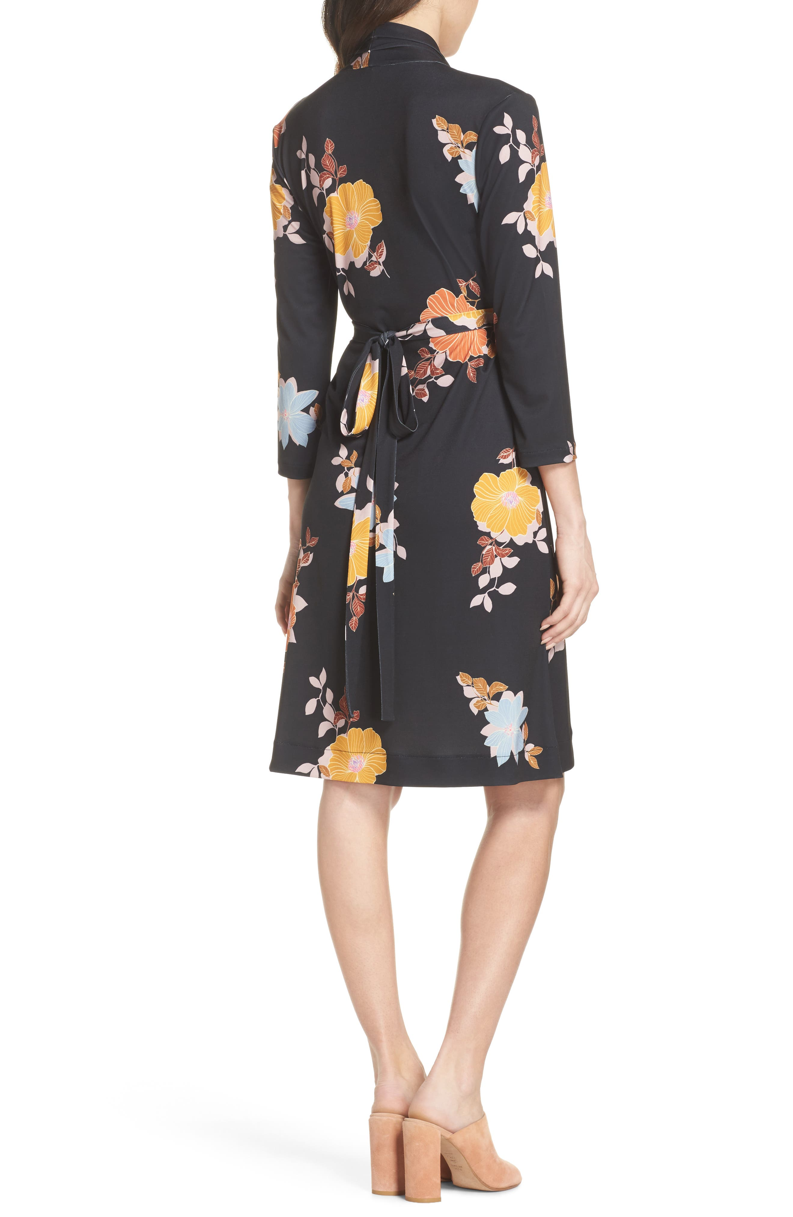 Shikoku Floral Dress,                             Alternate thumbnail 2, color,                             015