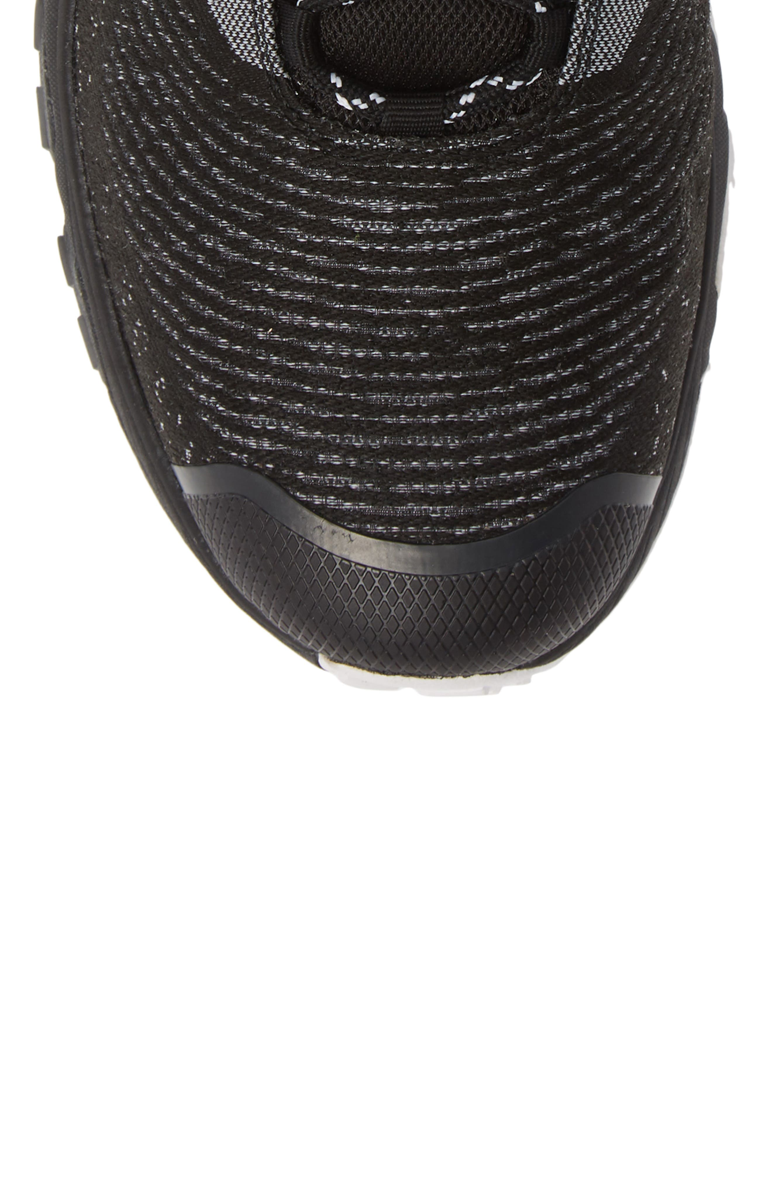 Ultra Fastpack III Mid Gore-Tex<sup>®</sup> Hiking Boot,                             Alternate thumbnail 5, color,                             BLACK/ WHITE