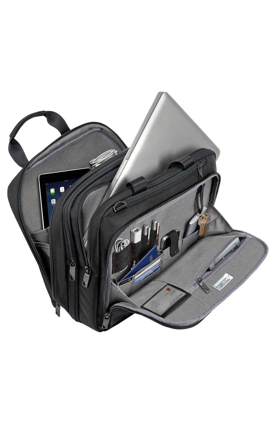 Verb - Adapt Expandable Briefcase,                             Alternate thumbnail 3, color,                             BLACK