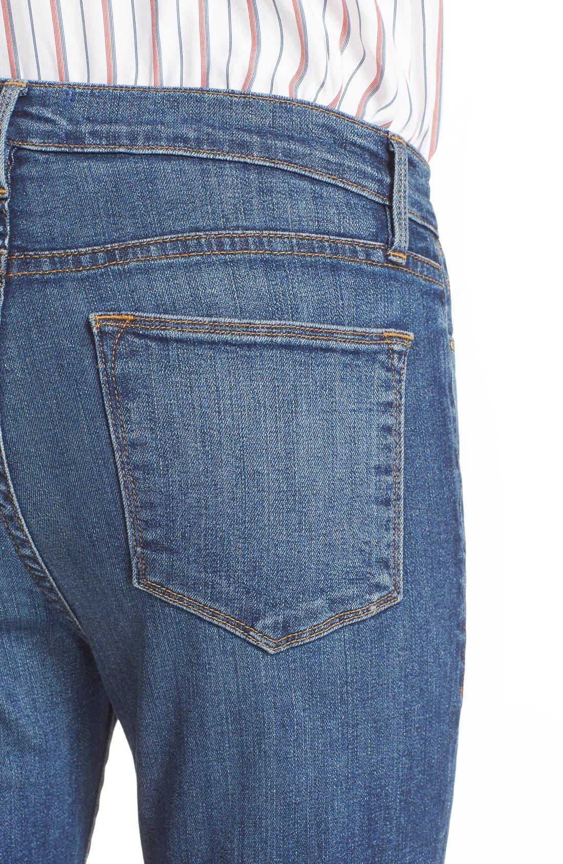 'Le High Flare' Jeans,                             Alternate thumbnail 18, color,