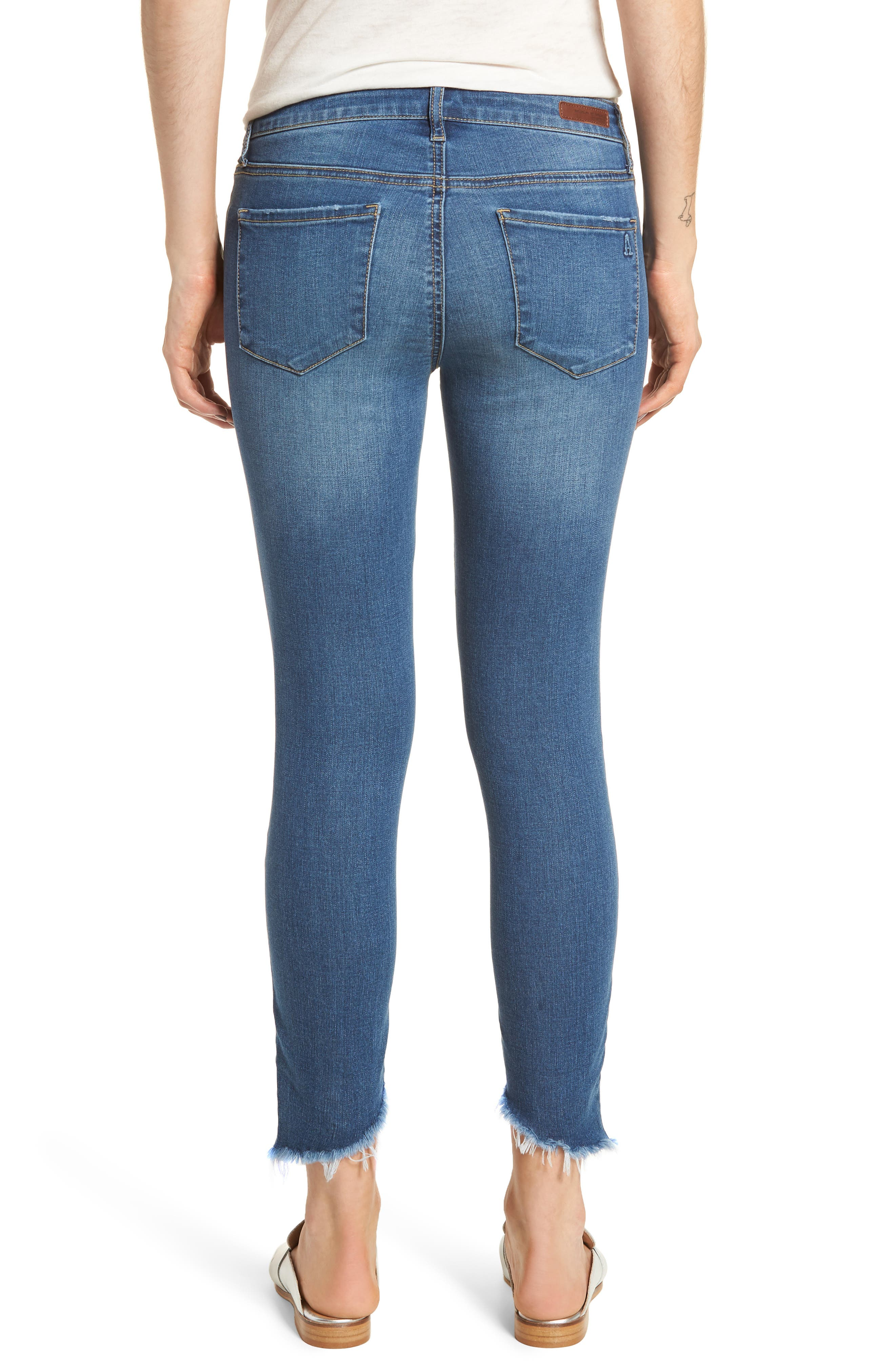 Sammy Distressed Crop Skinny Jeans,                             Alternate thumbnail 2, color,                             400