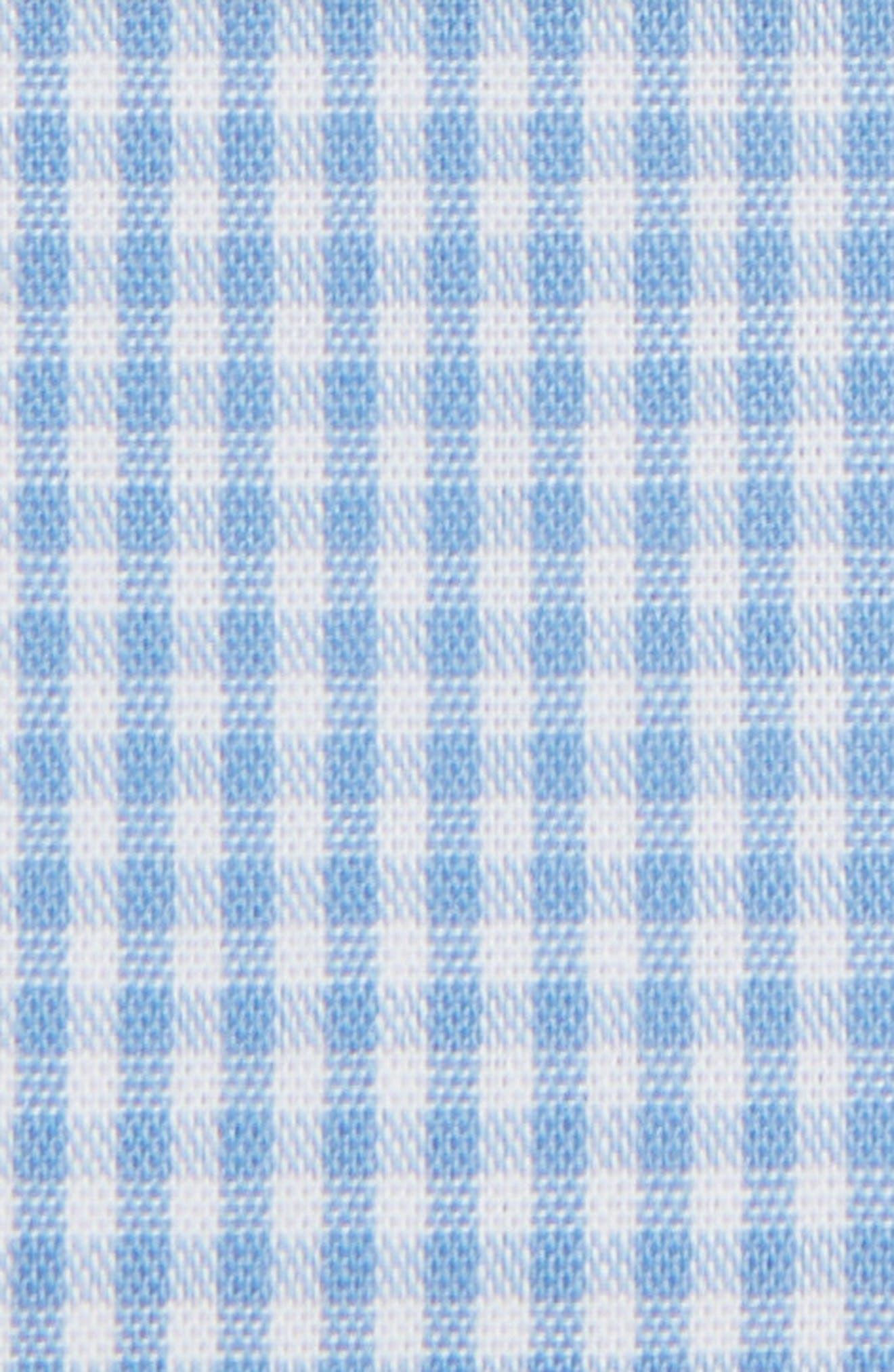 The Perfect Prefolded Gingham Pocket Square,                             Alternate thumbnail 3, color,                             459
