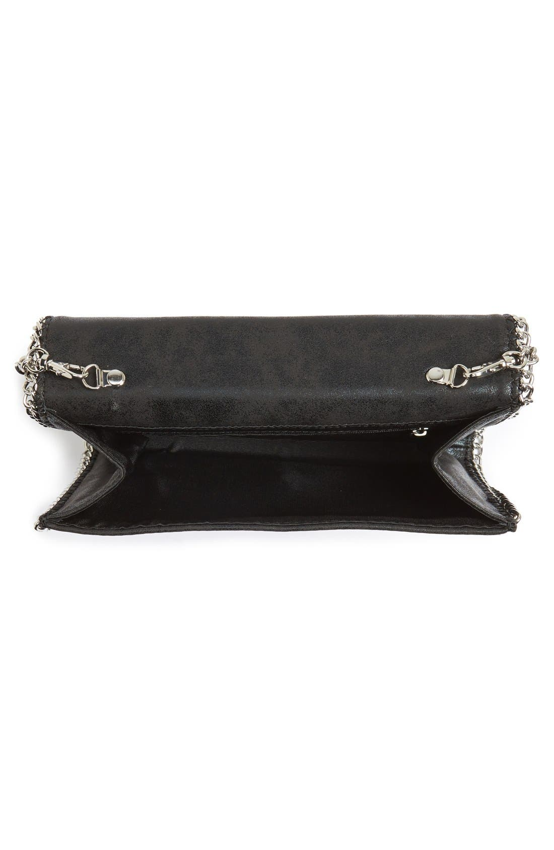 Faux Leather Crossbody Clutch,                             Alternate thumbnail 8, color,