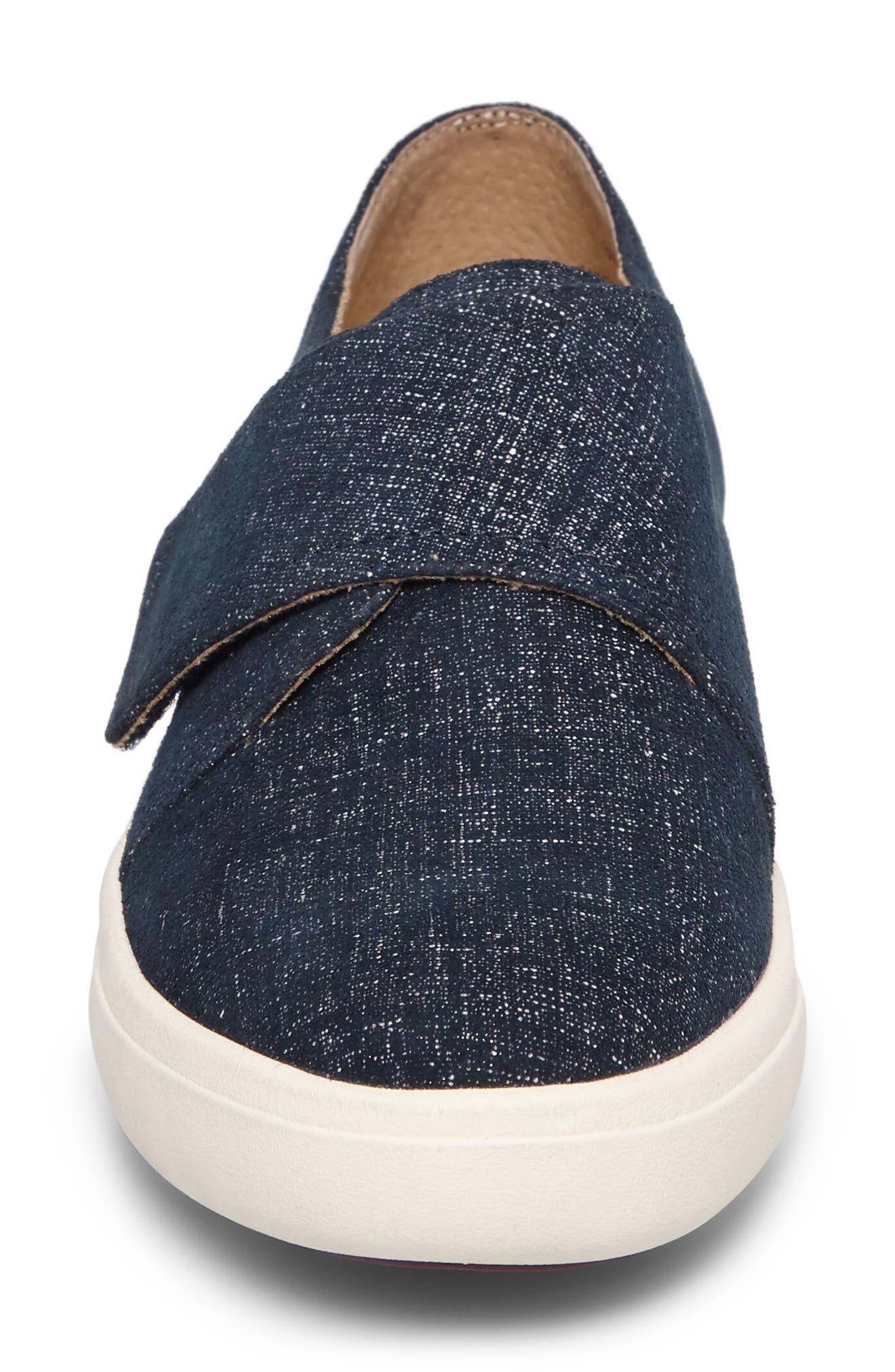 VANELI,                             Oberon Slip-On Sneaker,                             Alternate thumbnail 4, color,                             JEANS PRINTED SUEDE