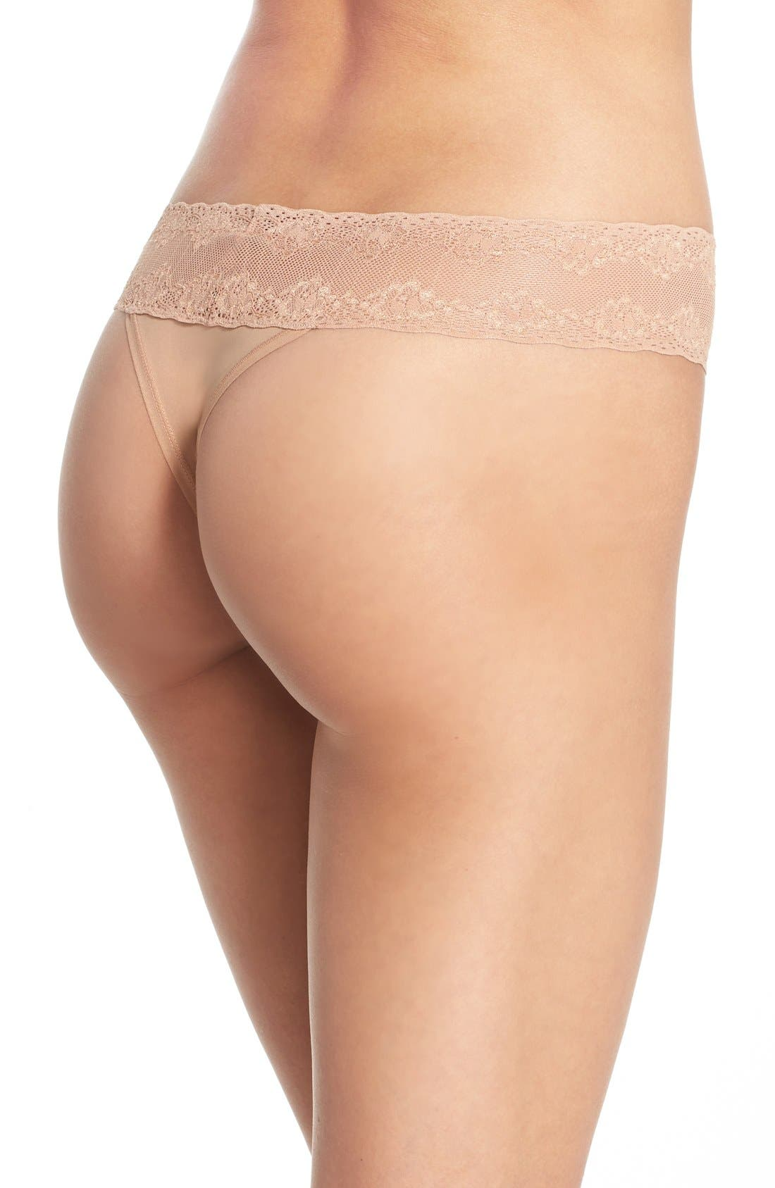 Bliss Perfection Thong,                             Alternate thumbnail 249, color,