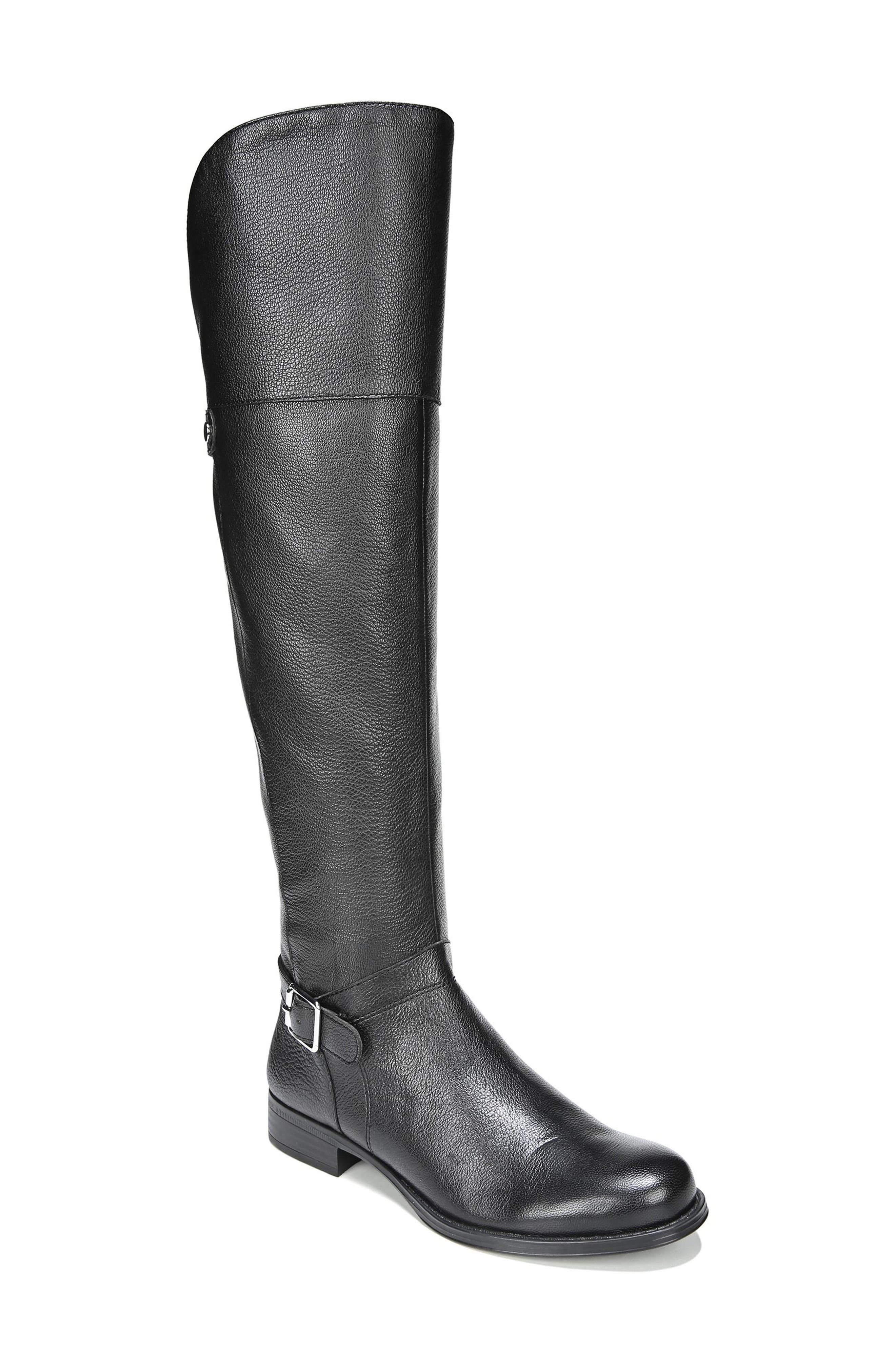 January Over the Knee High Boot,                             Main thumbnail 1, color,                             001