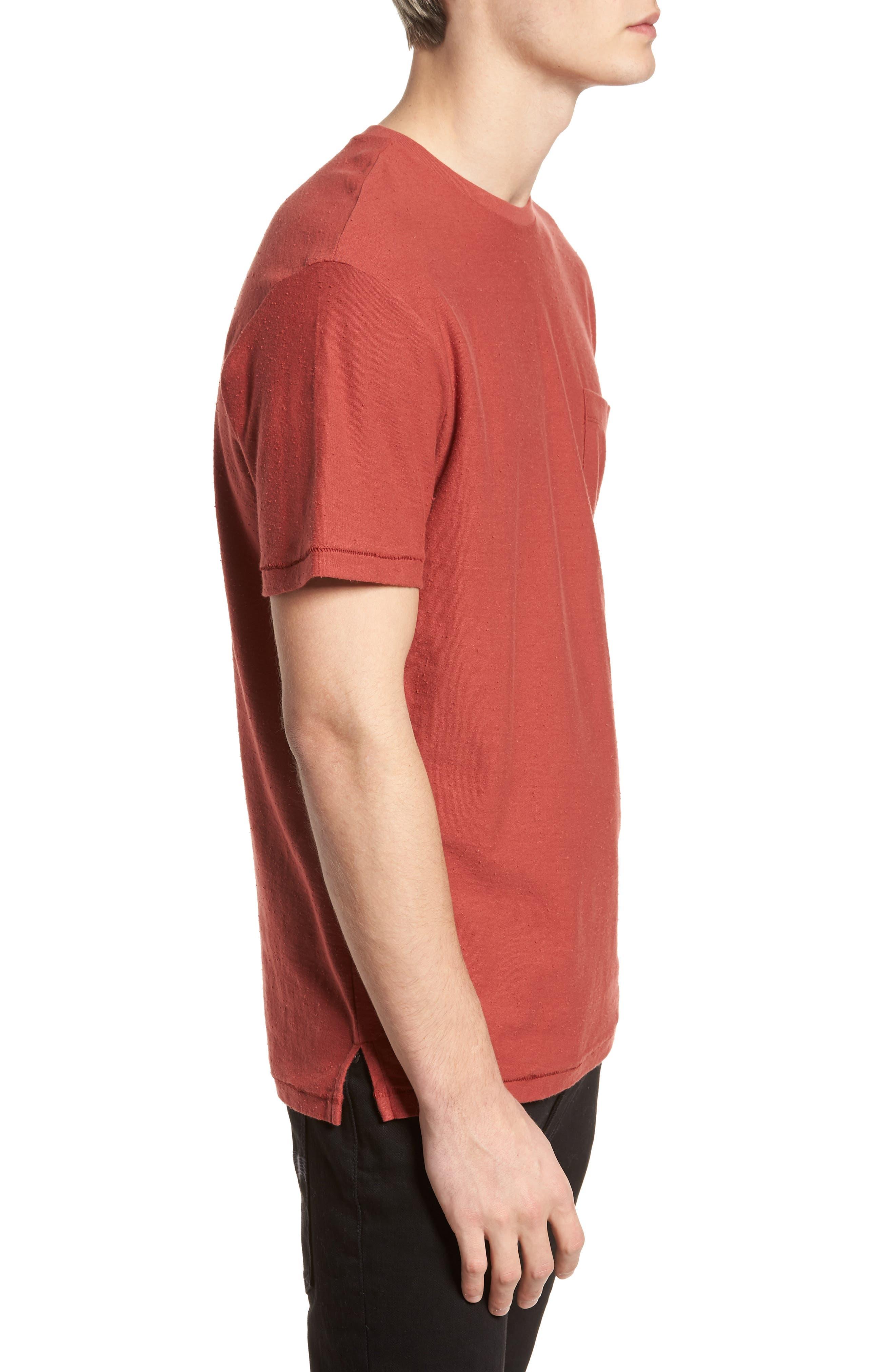 Nep Cotton Pocket T-Shirt,                             Alternate thumbnail 3, color,                             221