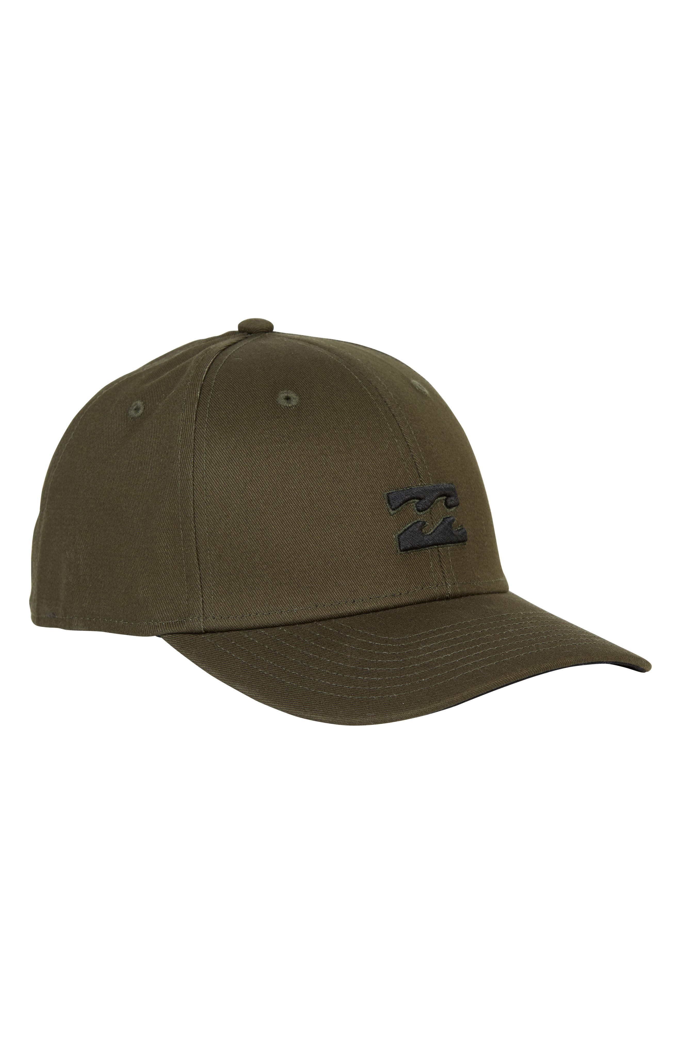 All Day Stretch Baseball Cap,                             Alternate thumbnail 4, color,                             OLIVE