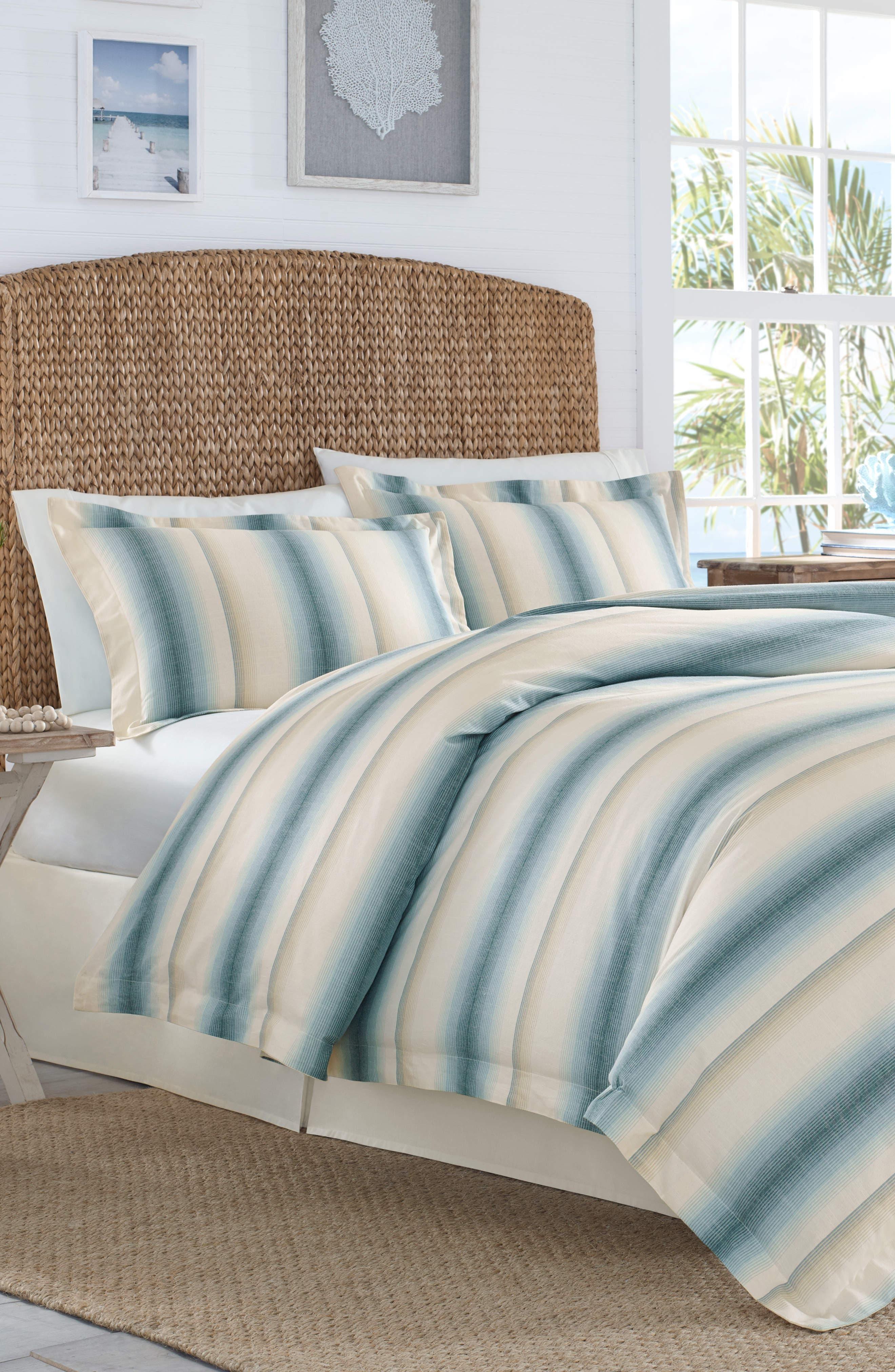 La Prisma Stripe Duvet Cover & Sham Set,                         Main,                         color, 475