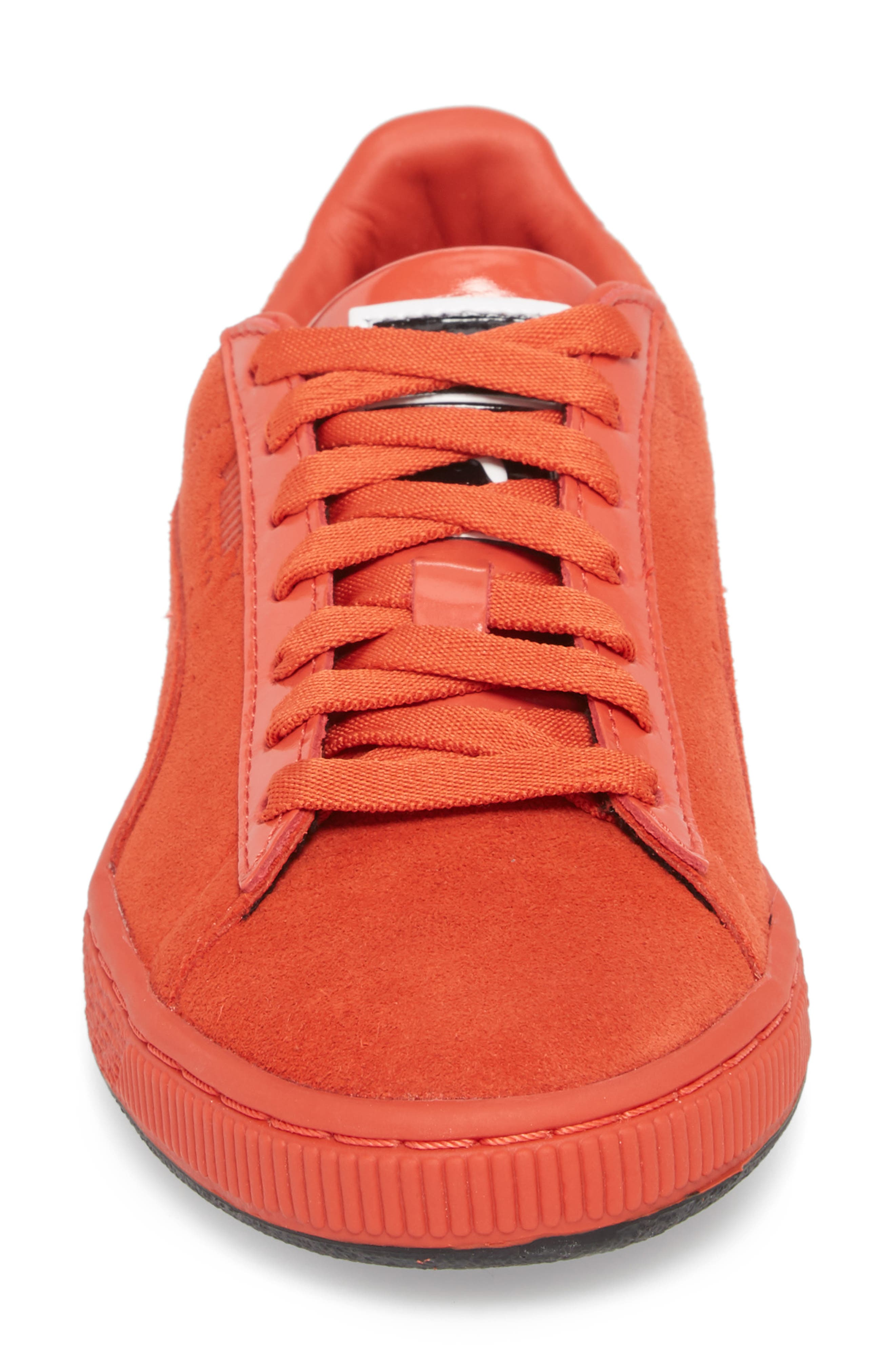 PUMA,                             x MAC ONE Suede Classic Sneaker,                             Alternate thumbnail 4, color,                             600