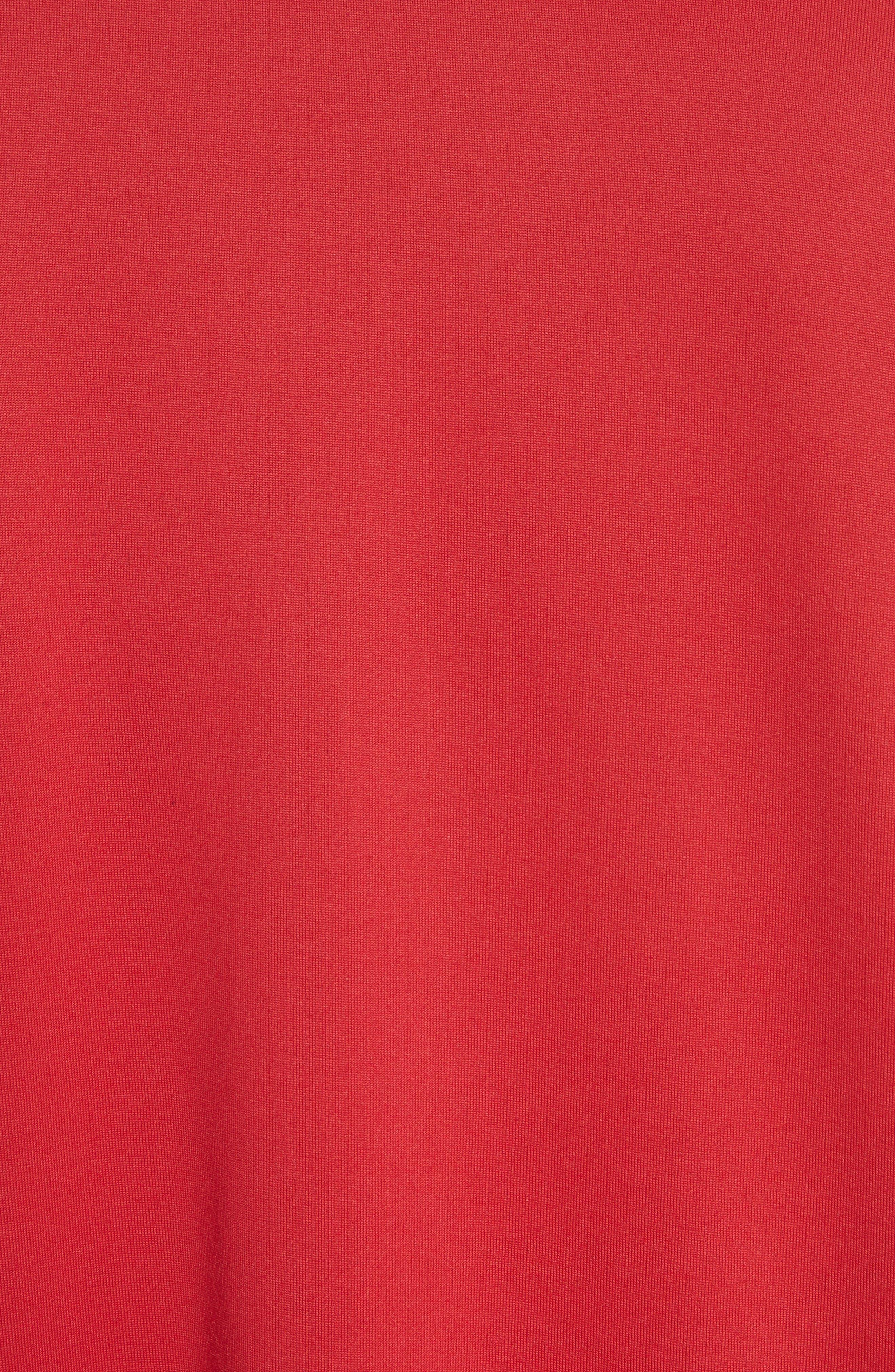 x adidas Stripe Crewneck T-Shirt,                             Alternate thumbnail 5, color,