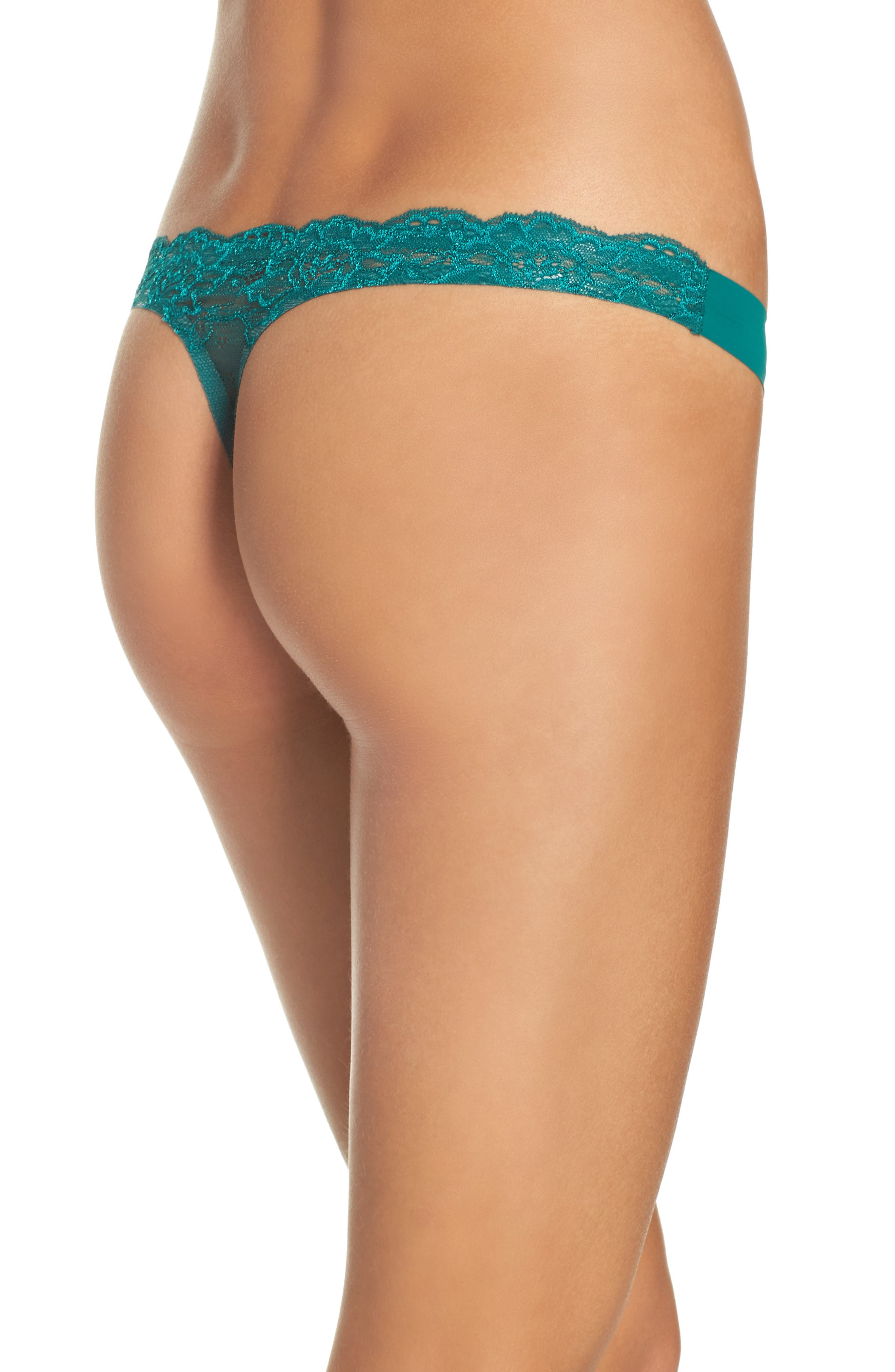 Intimately FP Smooth Thong,                             Alternate thumbnail 12, color,