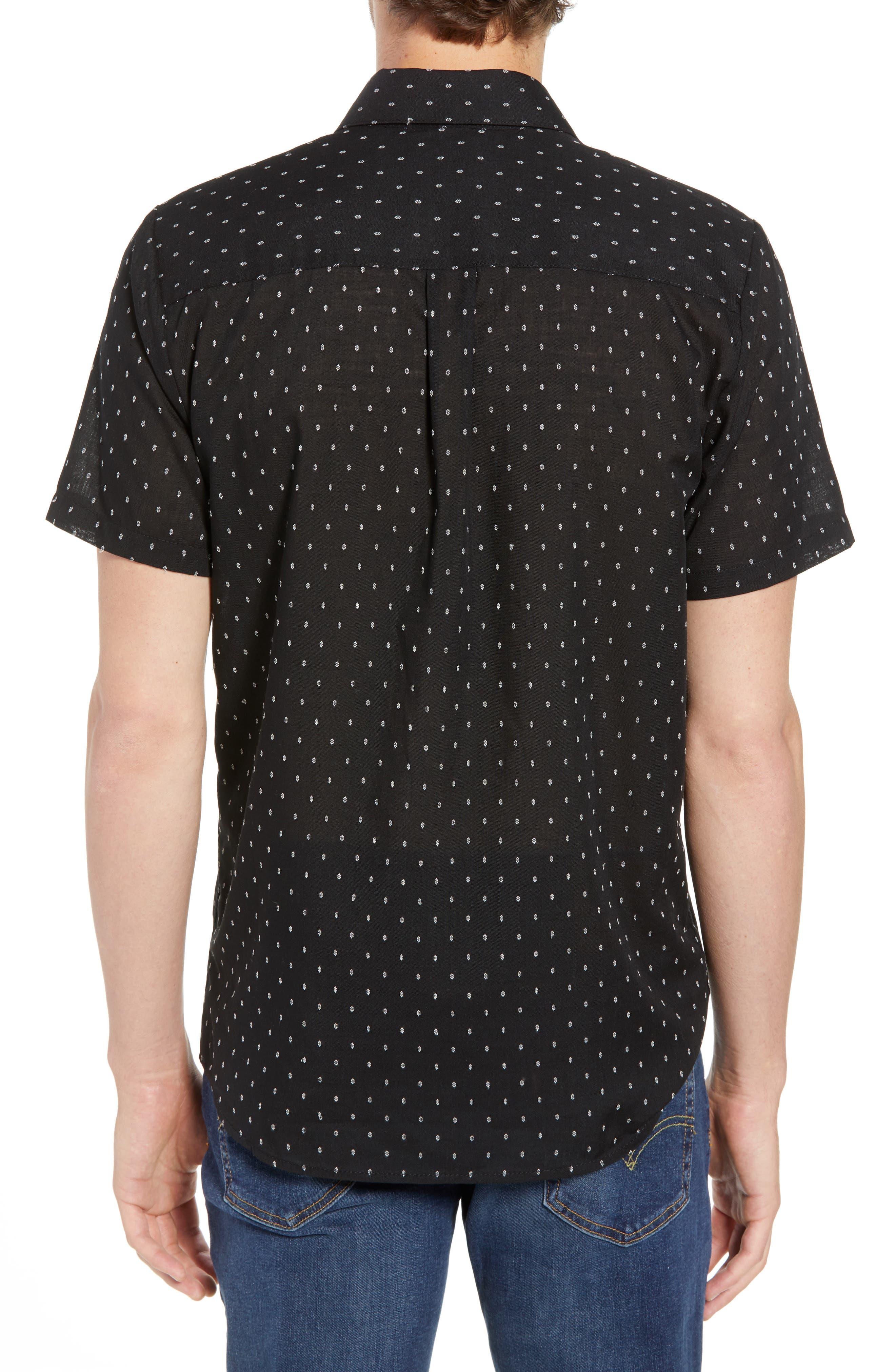 Dobler Woven Shirt,                             Alternate thumbnail 2, color,                             001