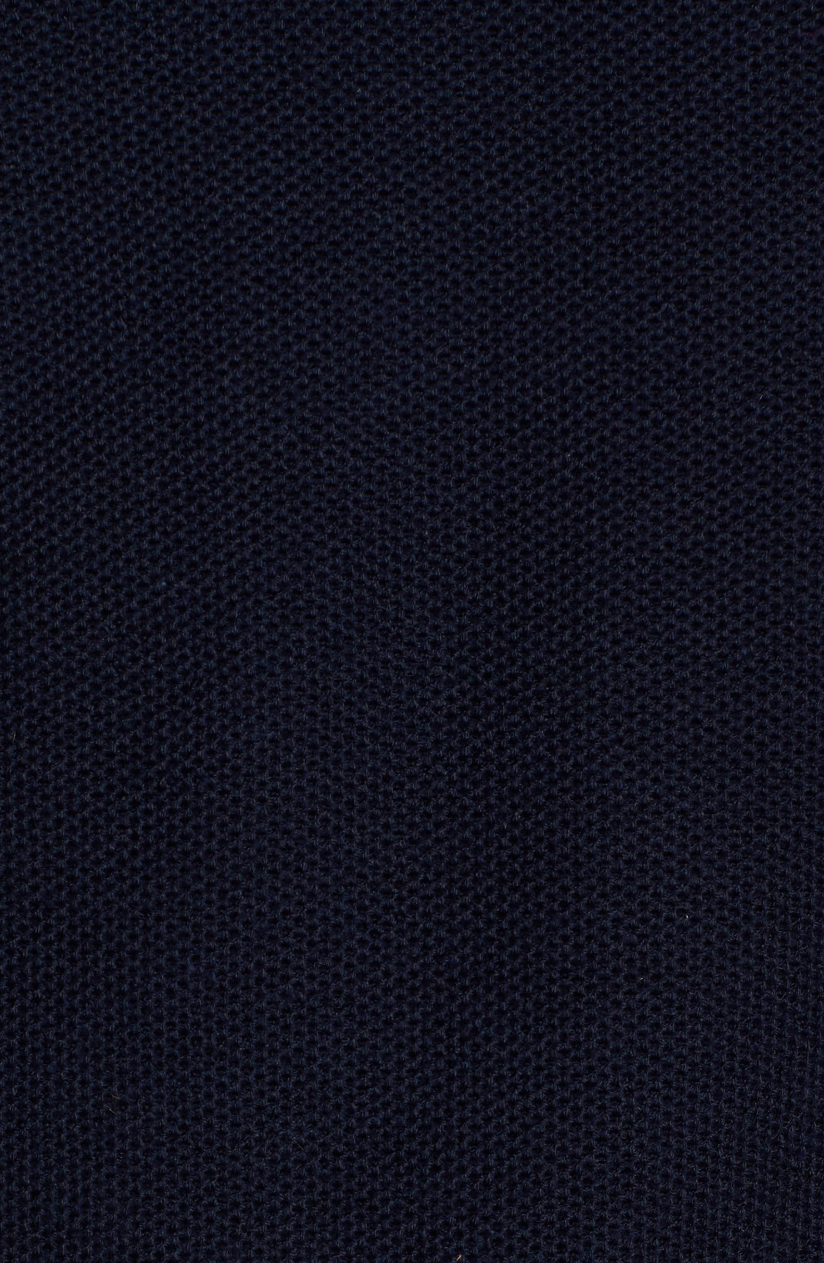 TAILORBYRD,                             Killona Tipped Quarter Zip Sweater,                             Alternate thumbnail 5, color,                             410