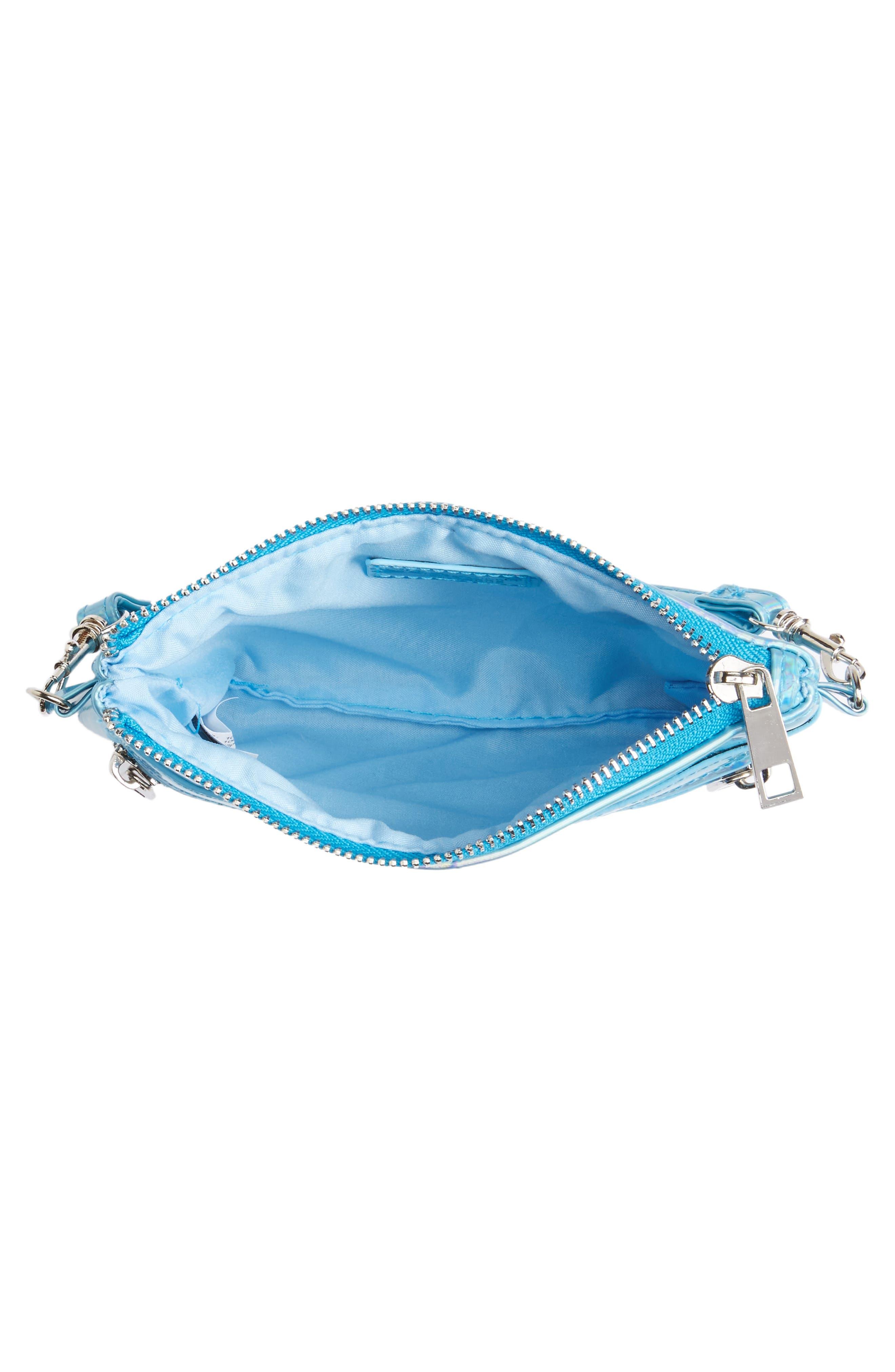 Capelli of New York Hologram Crossbody Bag,                             Alternate thumbnail 3, color,                             401