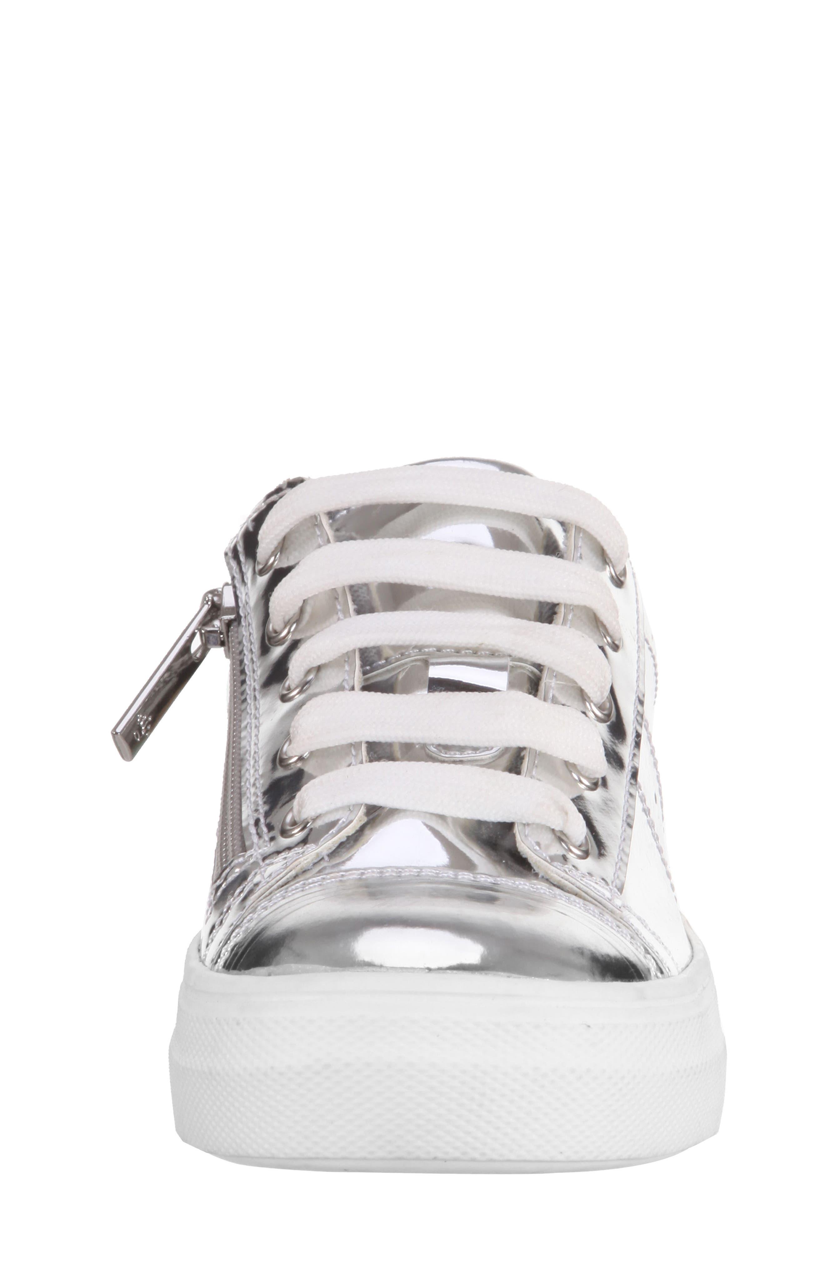 Rochella Metallic Sneaker,                             Alternate thumbnail 4, color,                             048