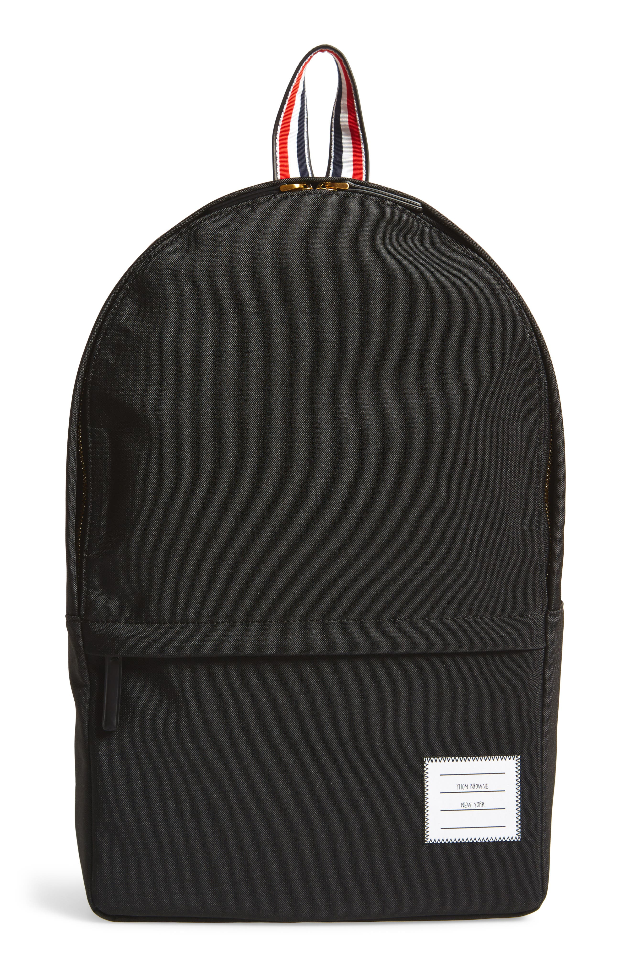 Nylon Backpack,                         Main,                         color, 001