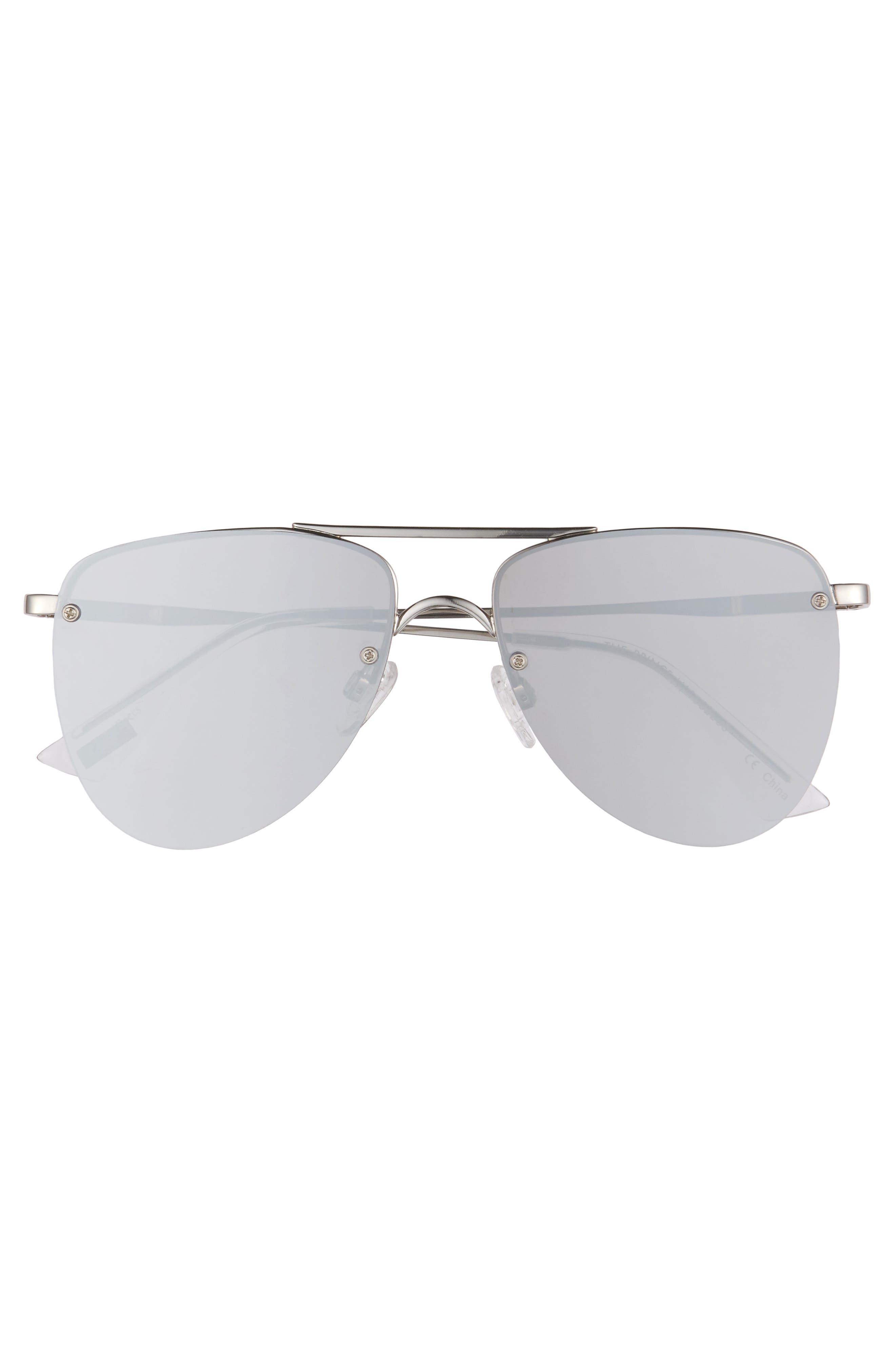 The Prince 57mm Aviator Sunglasses,                             Alternate thumbnail 3, color,                             040