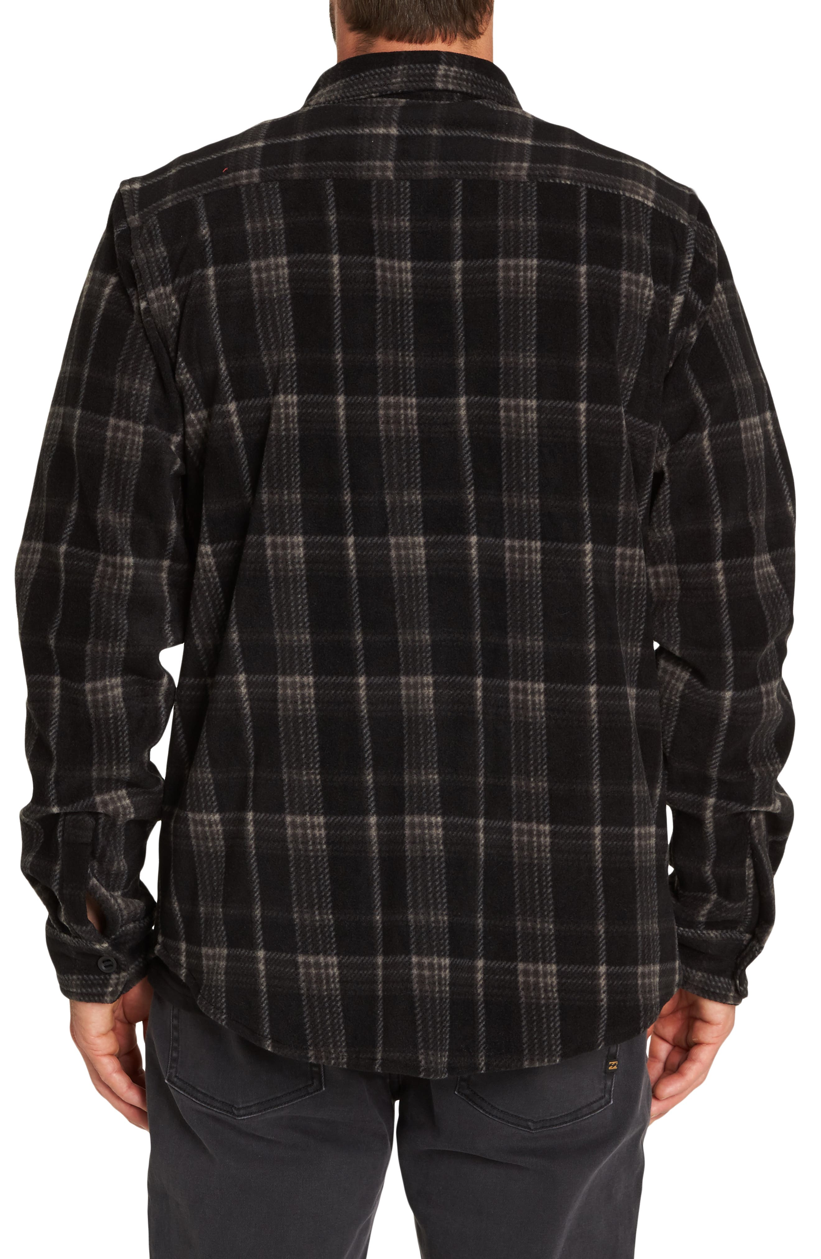 Furnace Plaid Shirt,                             Alternate thumbnail 2, color,                             BLACK