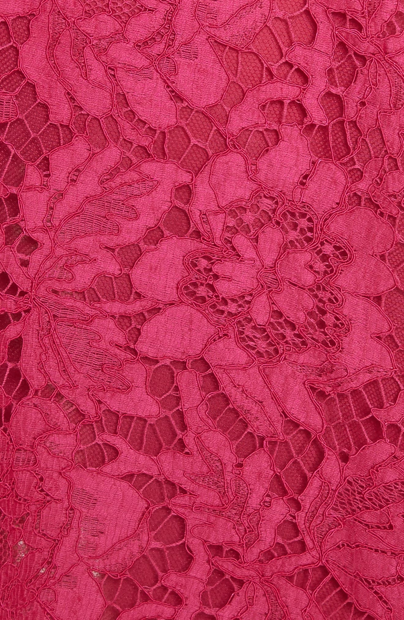 Tie Neck Guipure Lace Dress,                             Alternate thumbnail 6, color,                             650