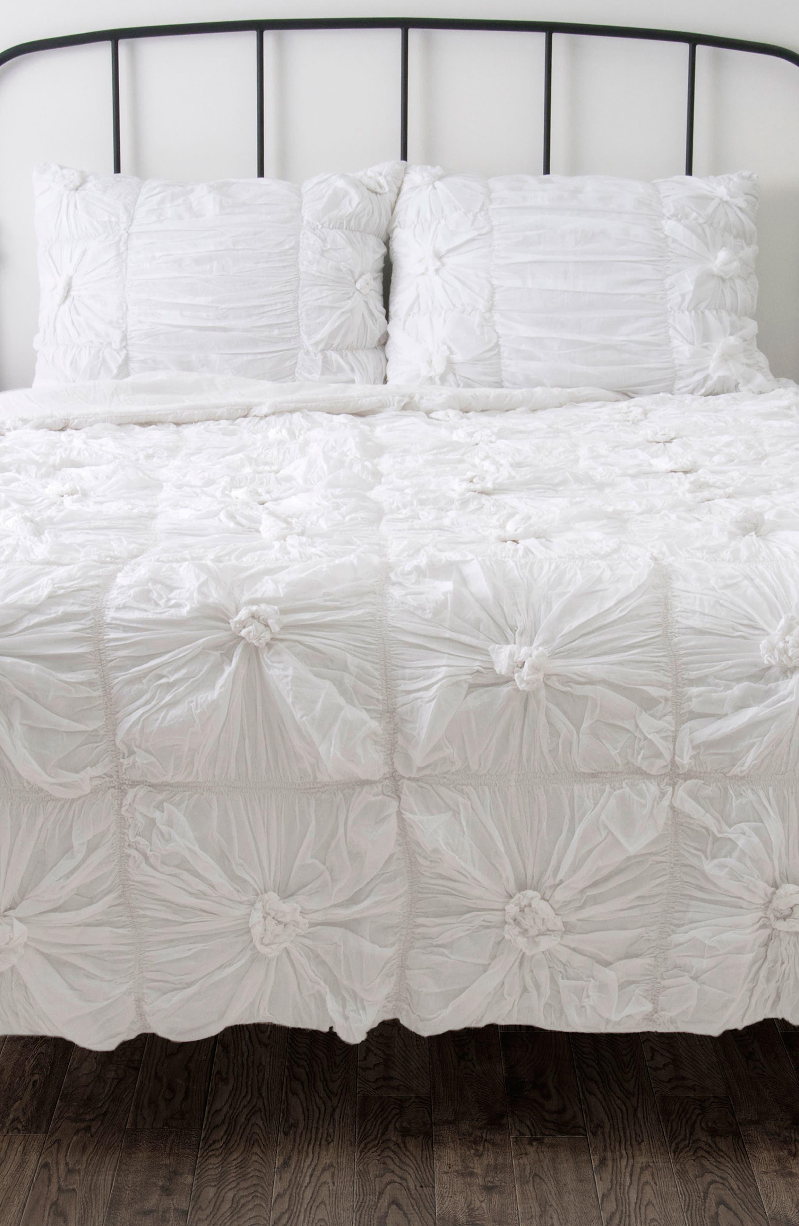 Knots Comforter & Sham Set,                             Alternate thumbnail 6, color,                             100