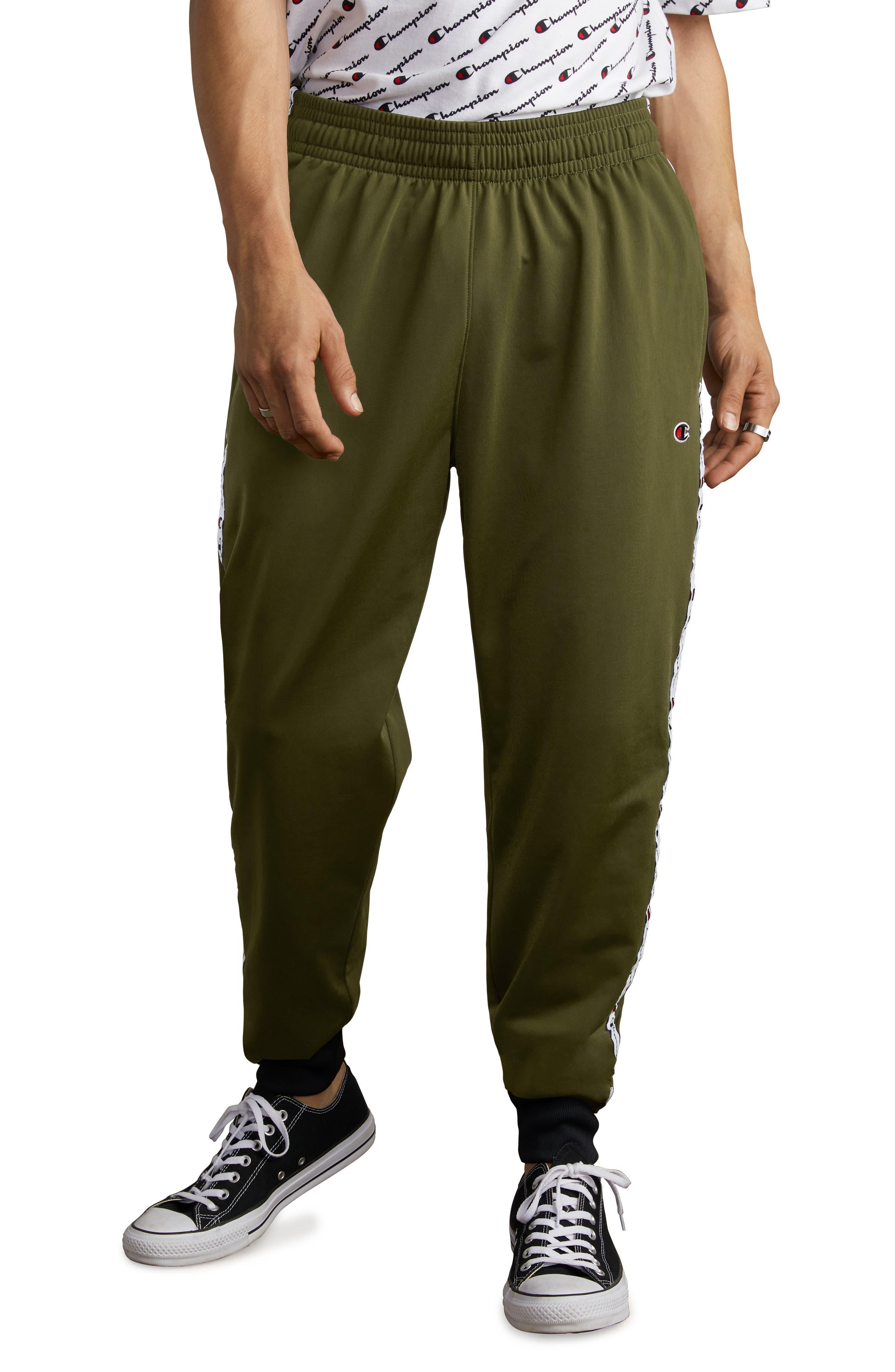 Track Pants,                             Main thumbnail 1, color,                             HIKER GREEN