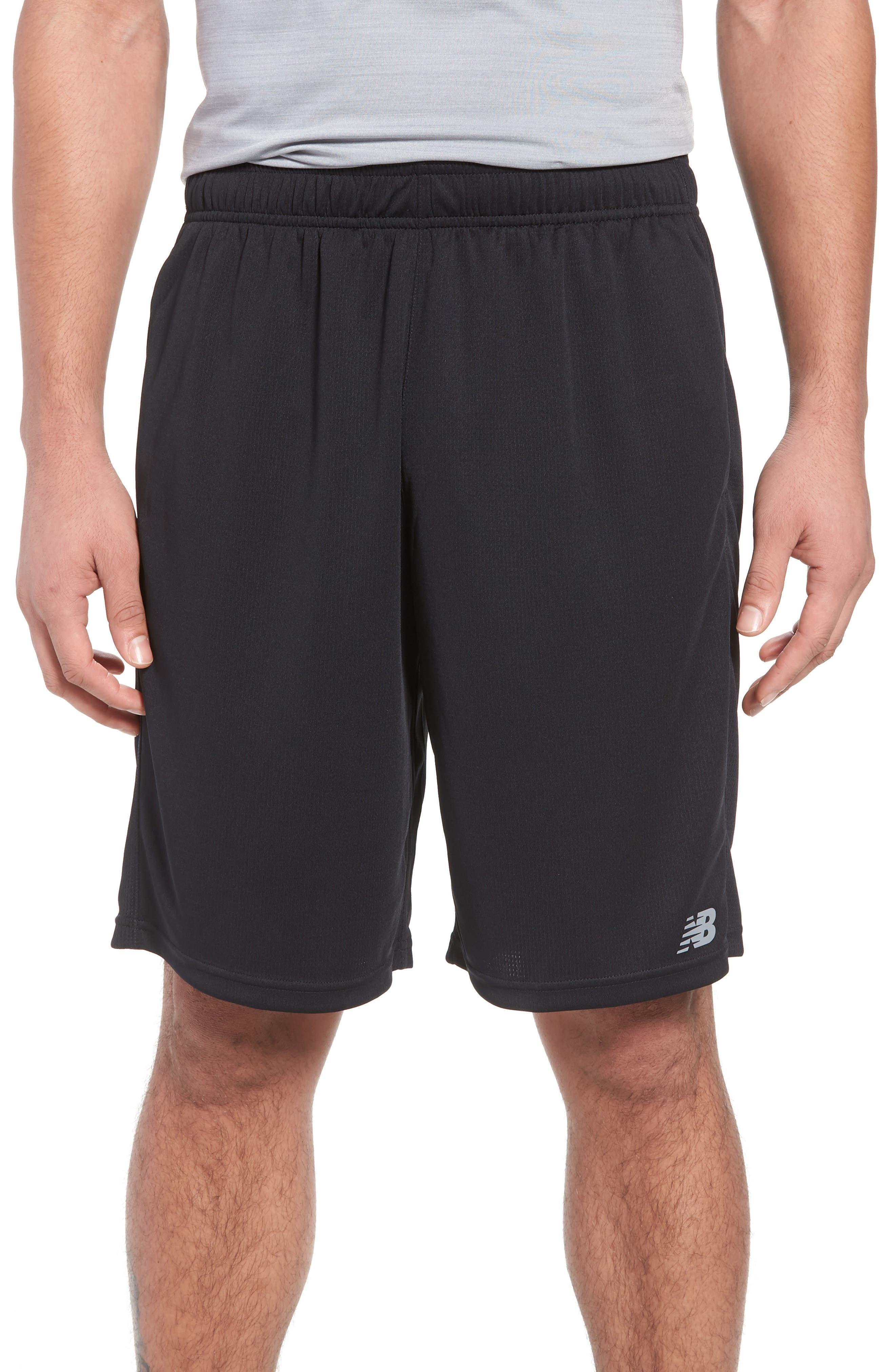 New Balance Versa Shorts, Black