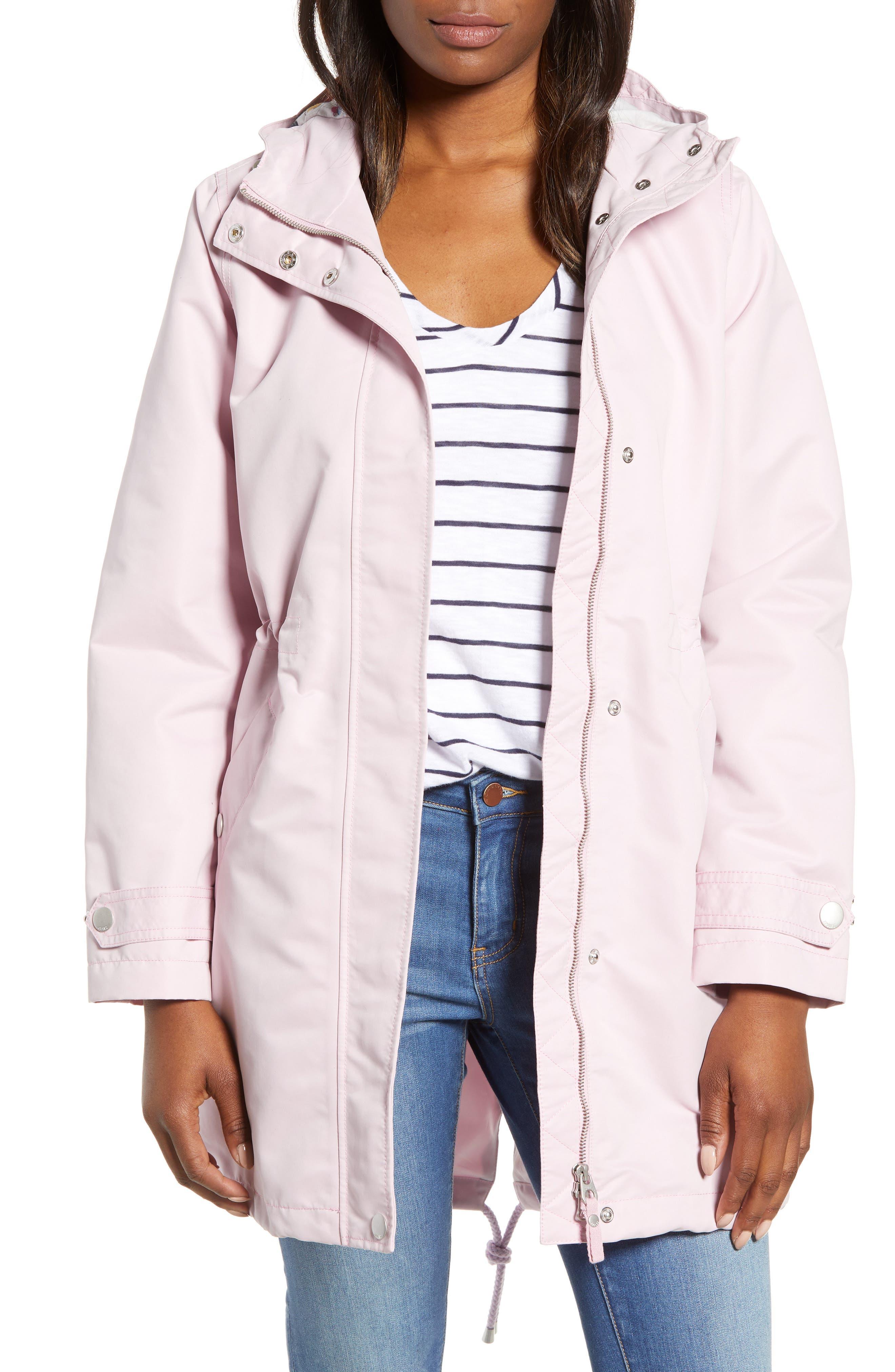 Right as Rain Long Line Hooded Waterproof Raincoat,                             Main thumbnail 1, color,                             531