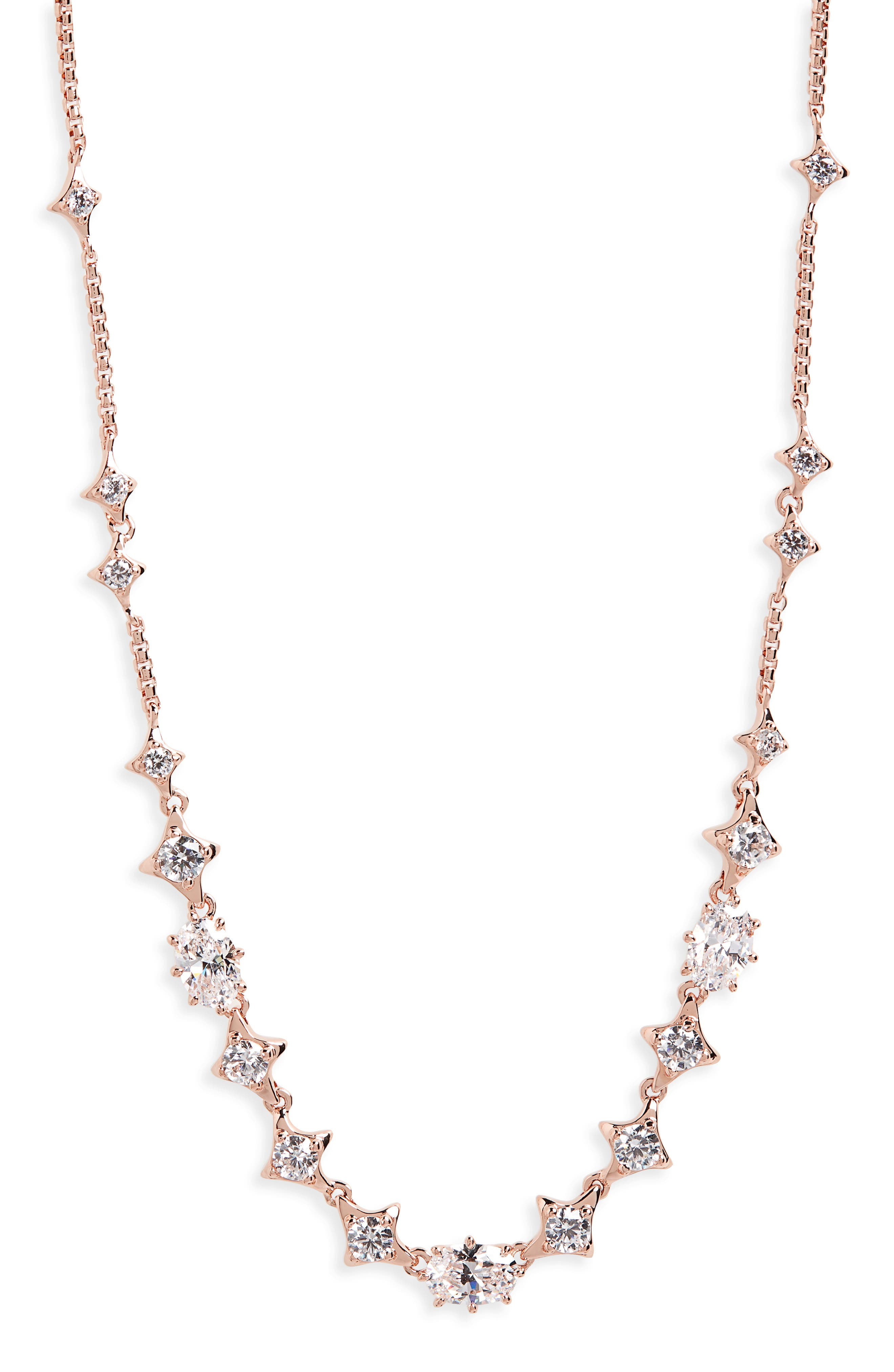 Boho Cubic Zirconia Necklace,                             Main thumbnail 2, color,