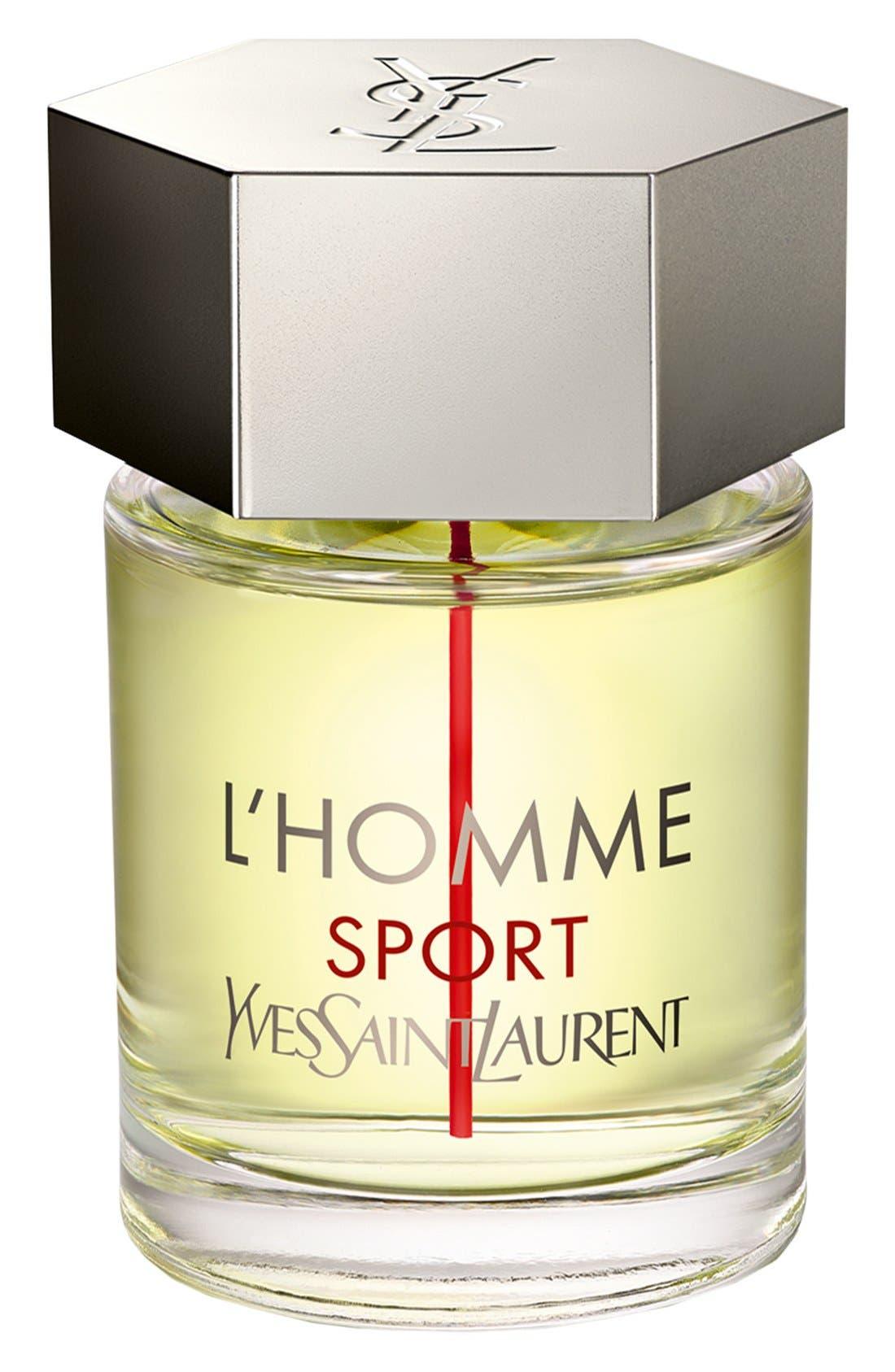 'L'Homme Sport' Eau de Toilette,                             Main thumbnail 1, color,