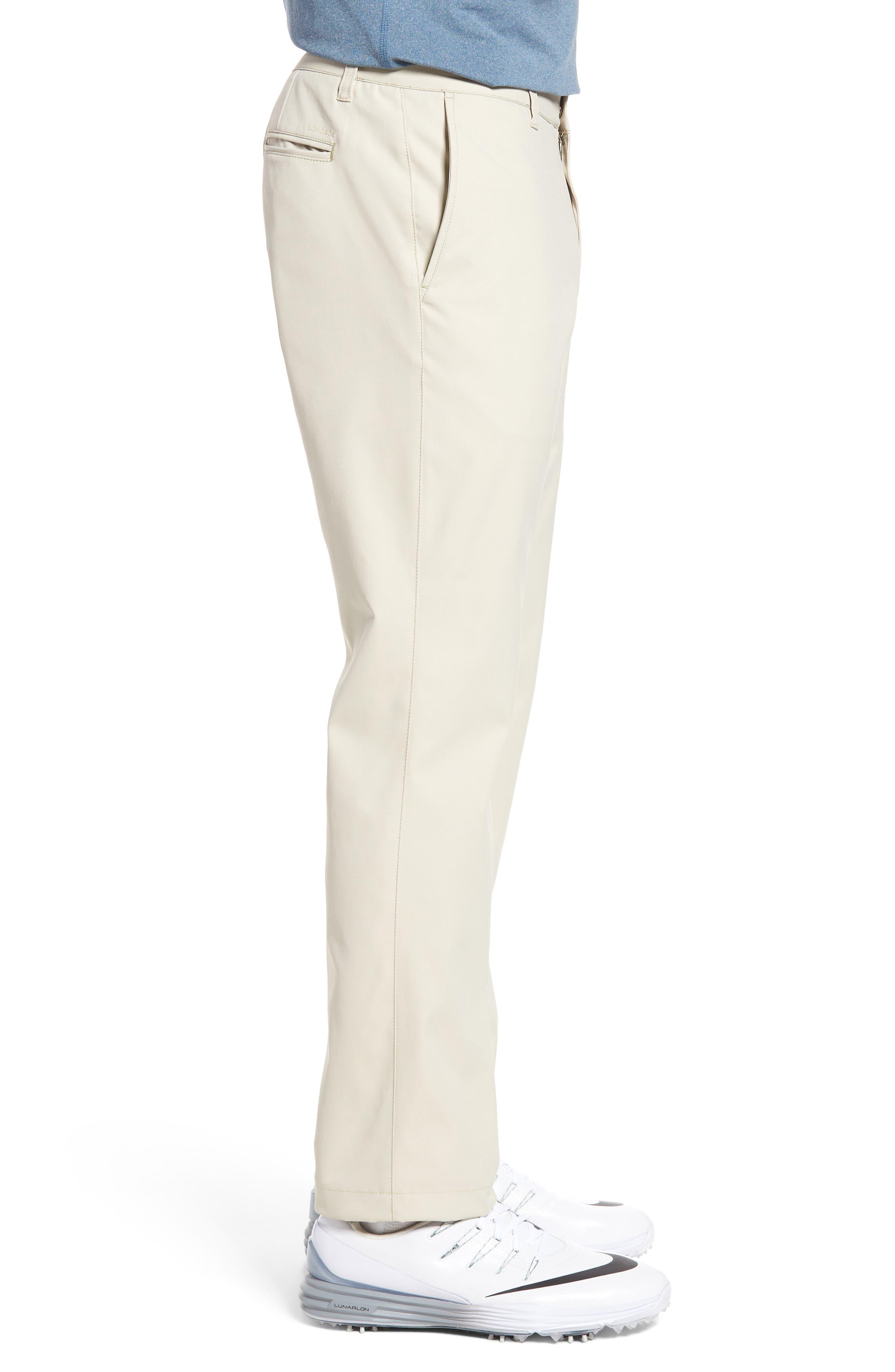 Highland Slim Fit Golf Pants,                             Alternate thumbnail 3, color,                             STONE