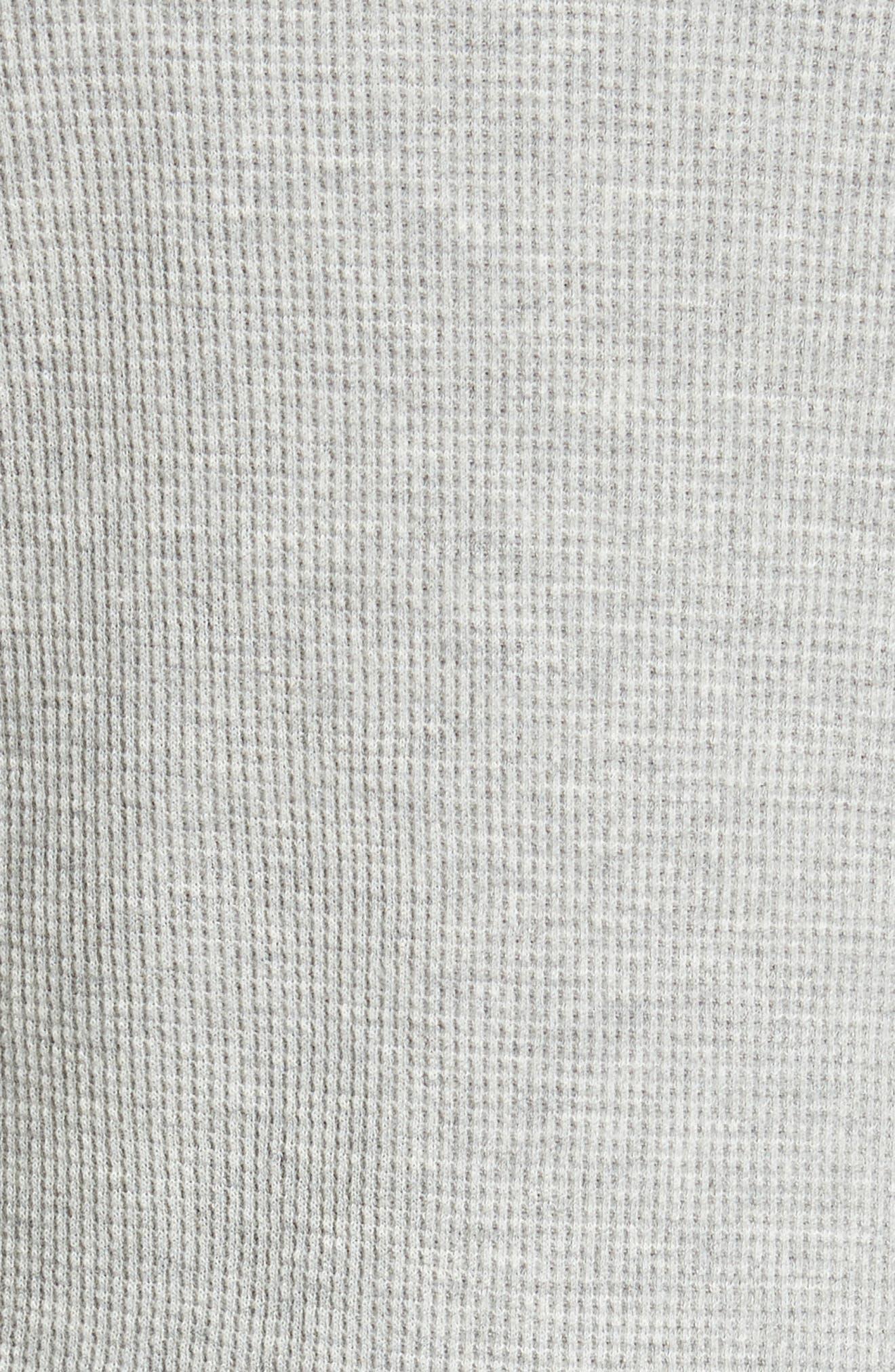 Thermal Pima Cotton Tee,                             Alternate thumbnail 5, color,                             061