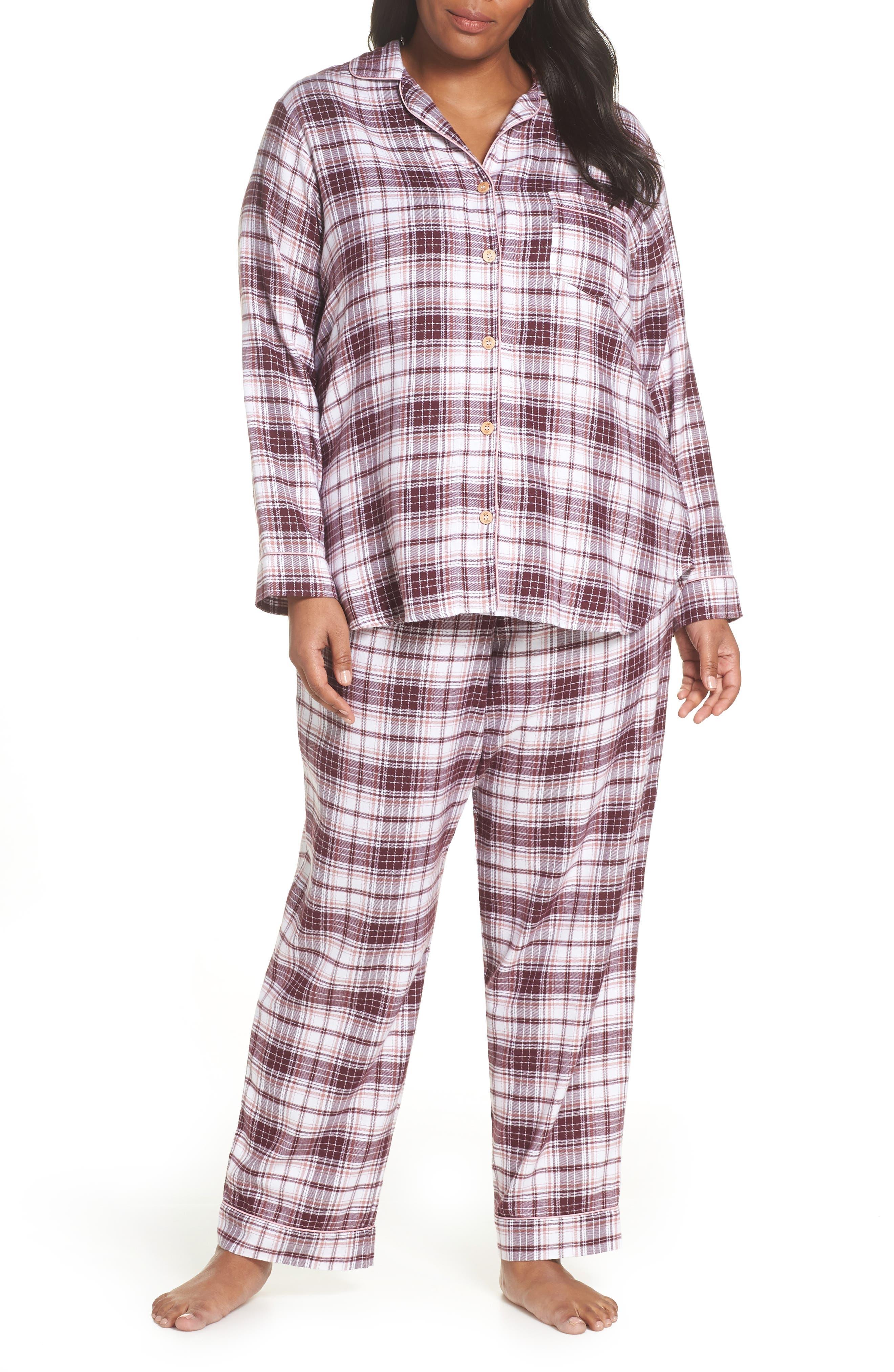 Raven Plaid Pajamas, Main, color, PORT PLAID