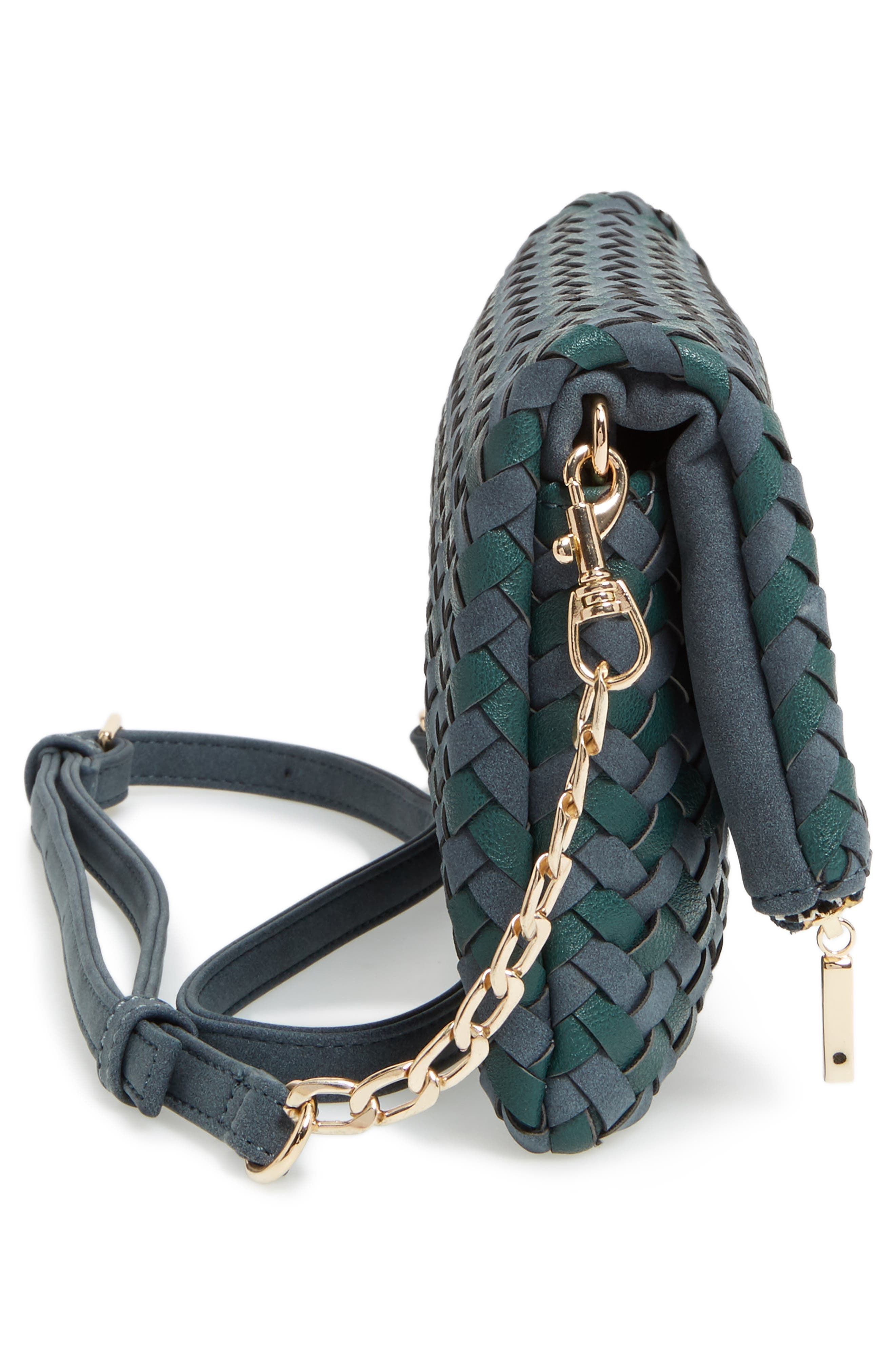 Marlee Woven Clutch,                             Alternate thumbnail 5, color,                             410