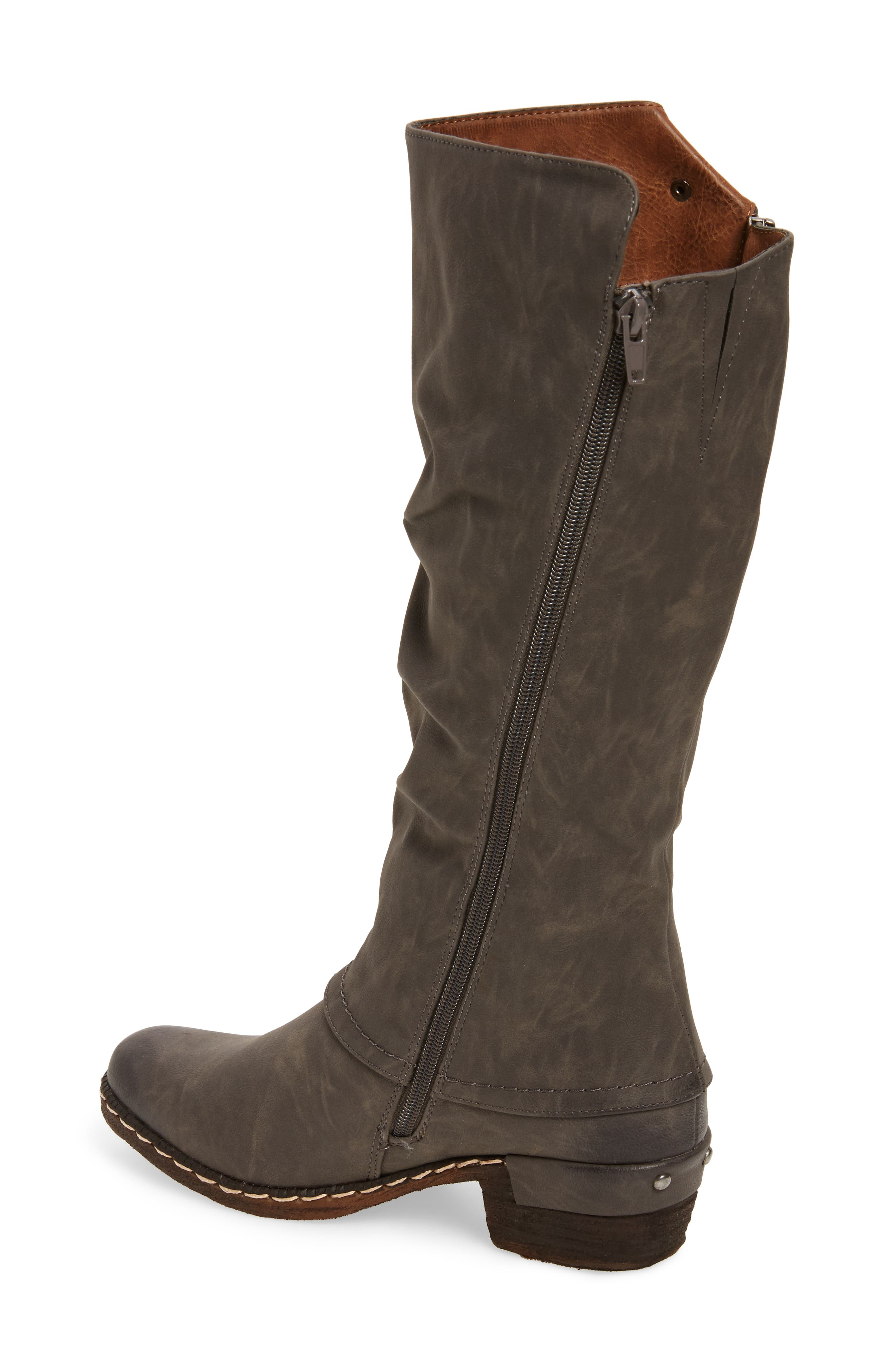 'Bernadette 55' Slightly Slouchy All Weather Boot,                             Alternate thumbnail 2, color,                             020