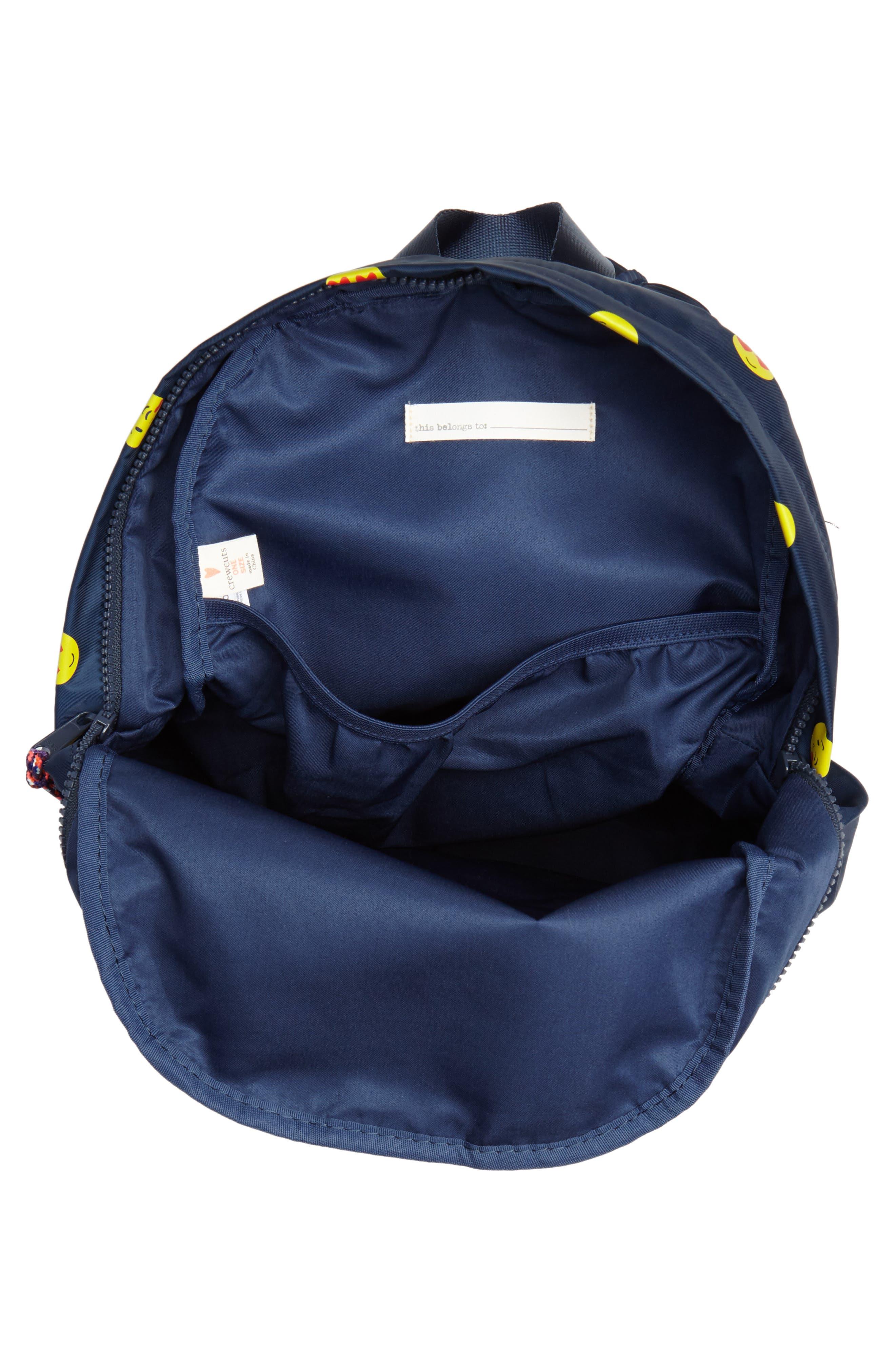 Emoji Backpack,                             Alternate thumbnail 3, color,                             NAVY