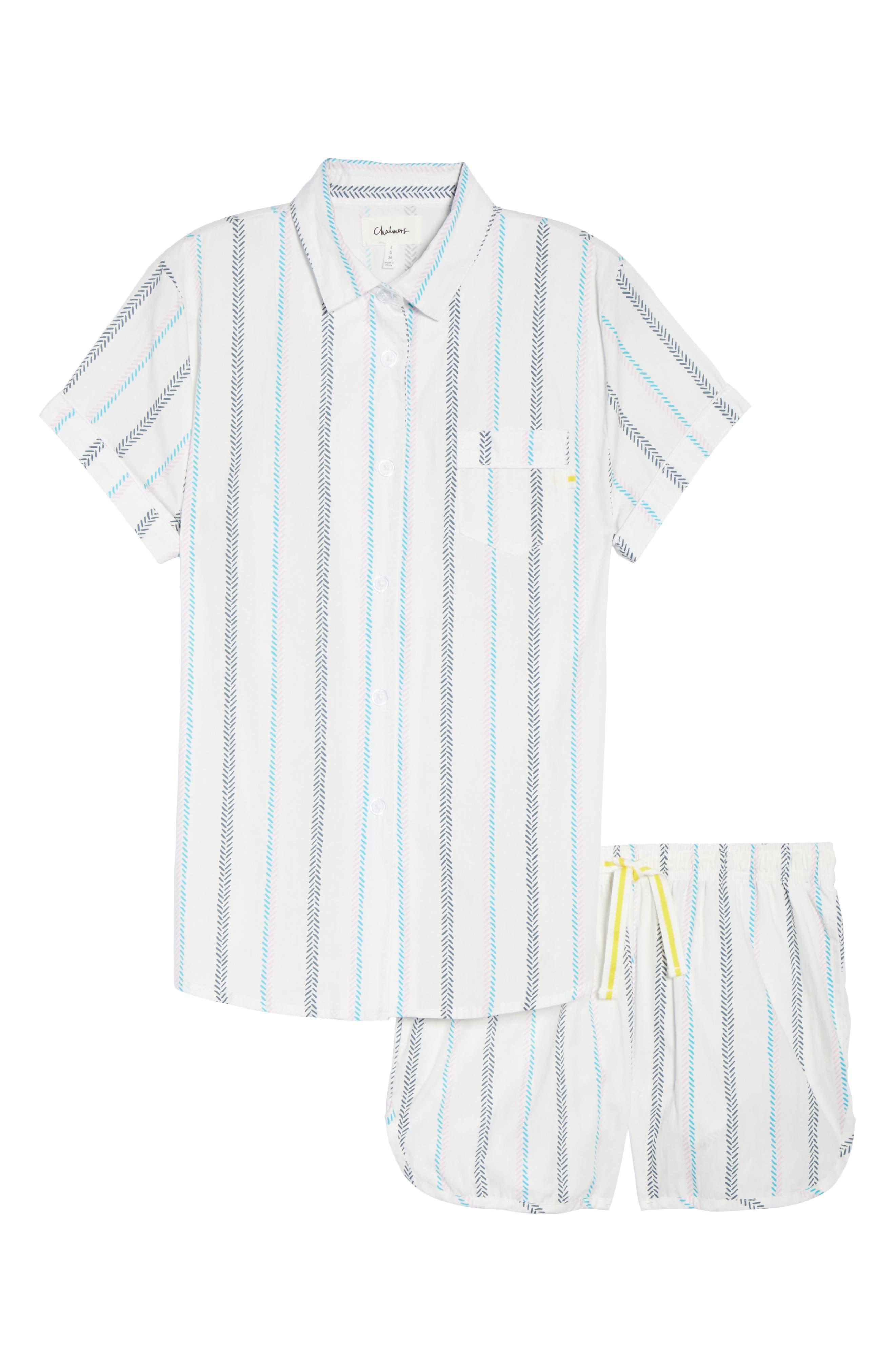 Kit Short Pajamas,                             Alternate thumbnail 6, color,