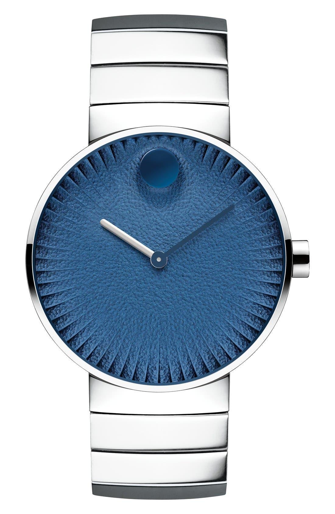 'Edge' Bracelet Watch, 40mm,                             Main thumbnail 6, color,