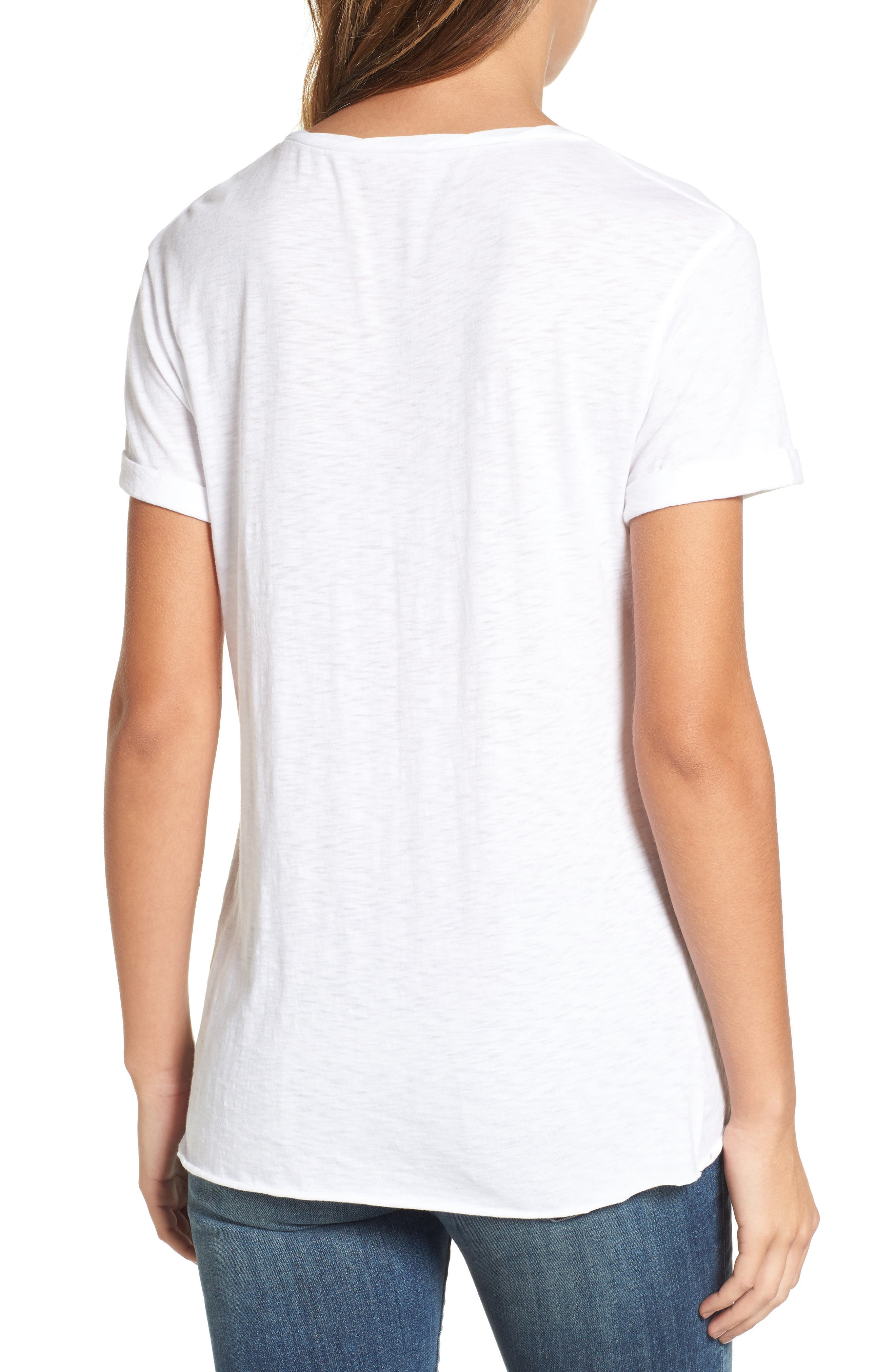 Knotted Tee,                             Alternate thumbnail 18, color,