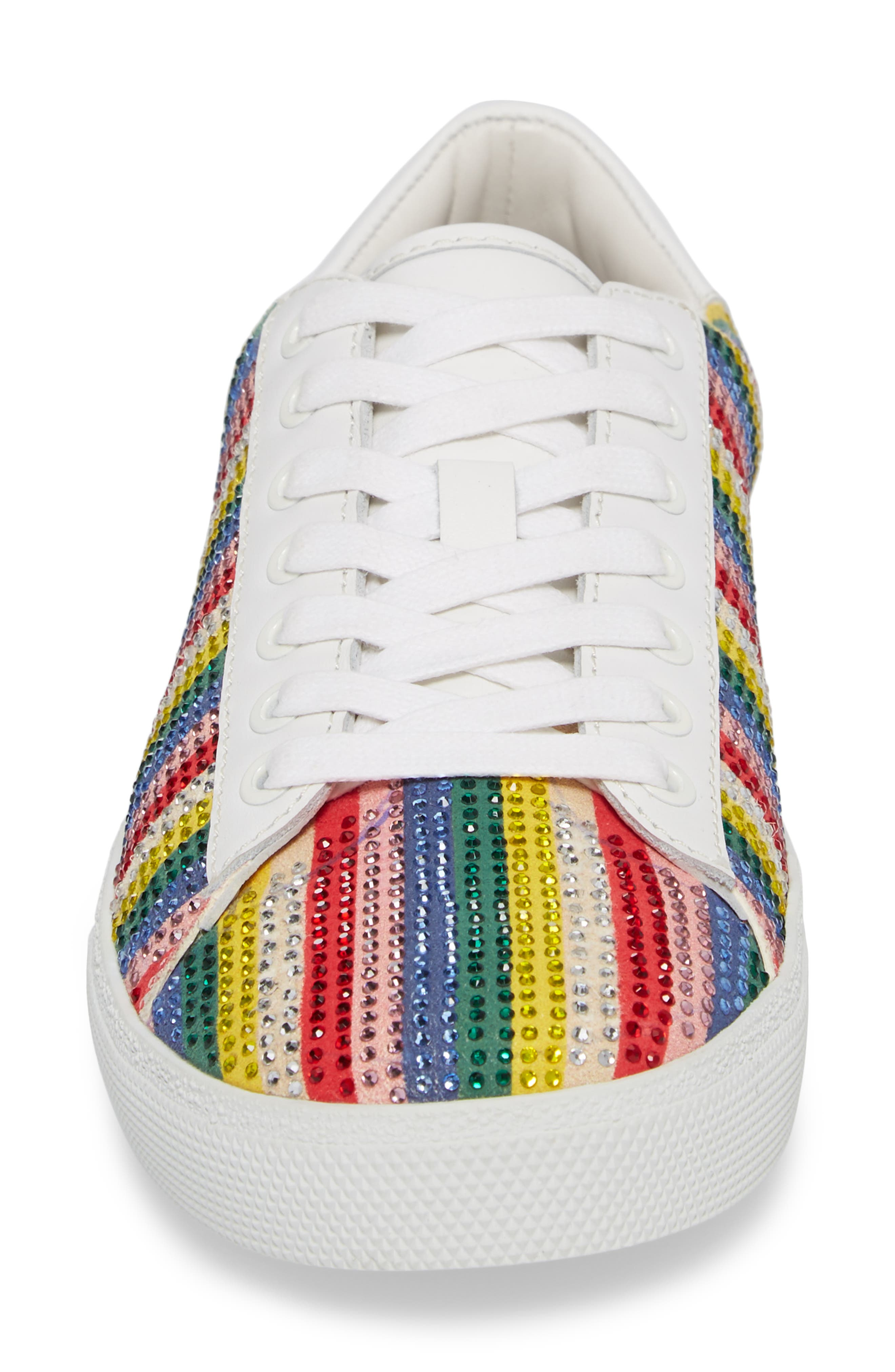 Cassidy Crystal Embellished Sneaker,                             Alternate thumbnail 4, color,