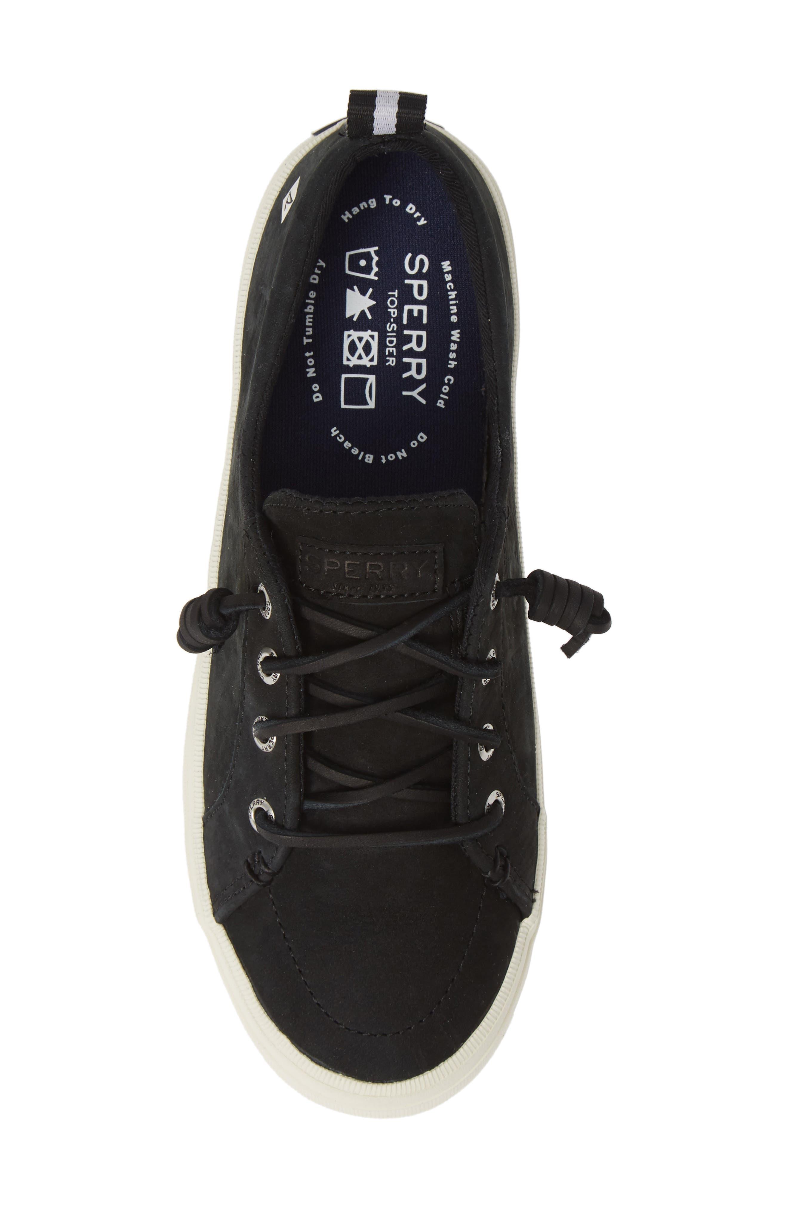 SPERRY,                             Crest Vibe Sneaker,                             Alternate thumbnail 5, color,                             001