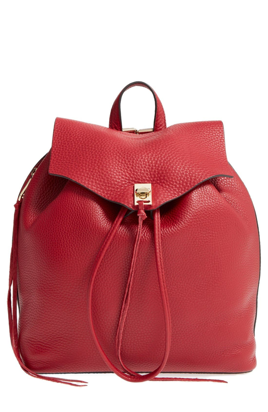Darren Leather Backpack,                             Main thumbnail 3, color,